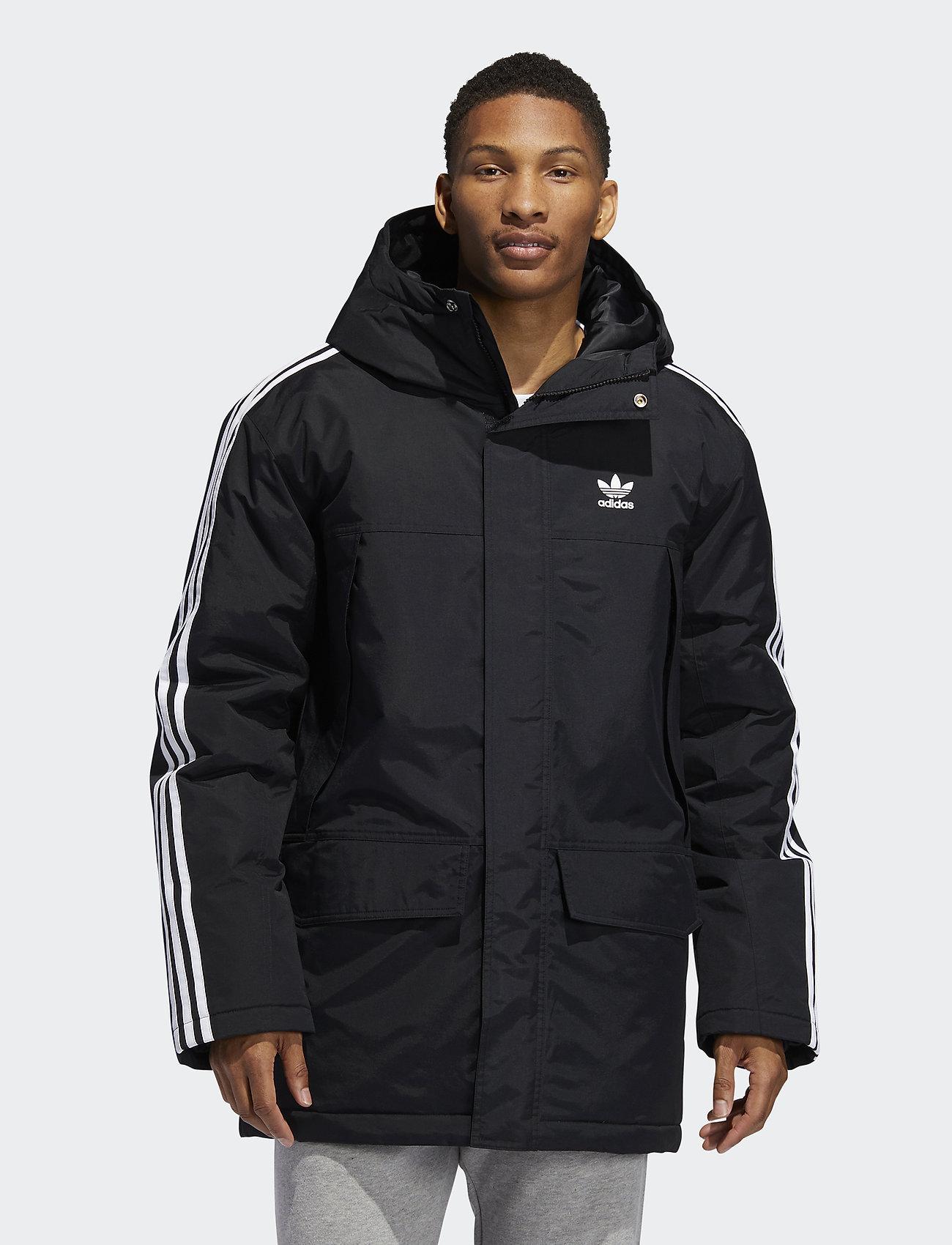 adidas Originals - PARKA PADDE - kurtki puchowe - black - 0