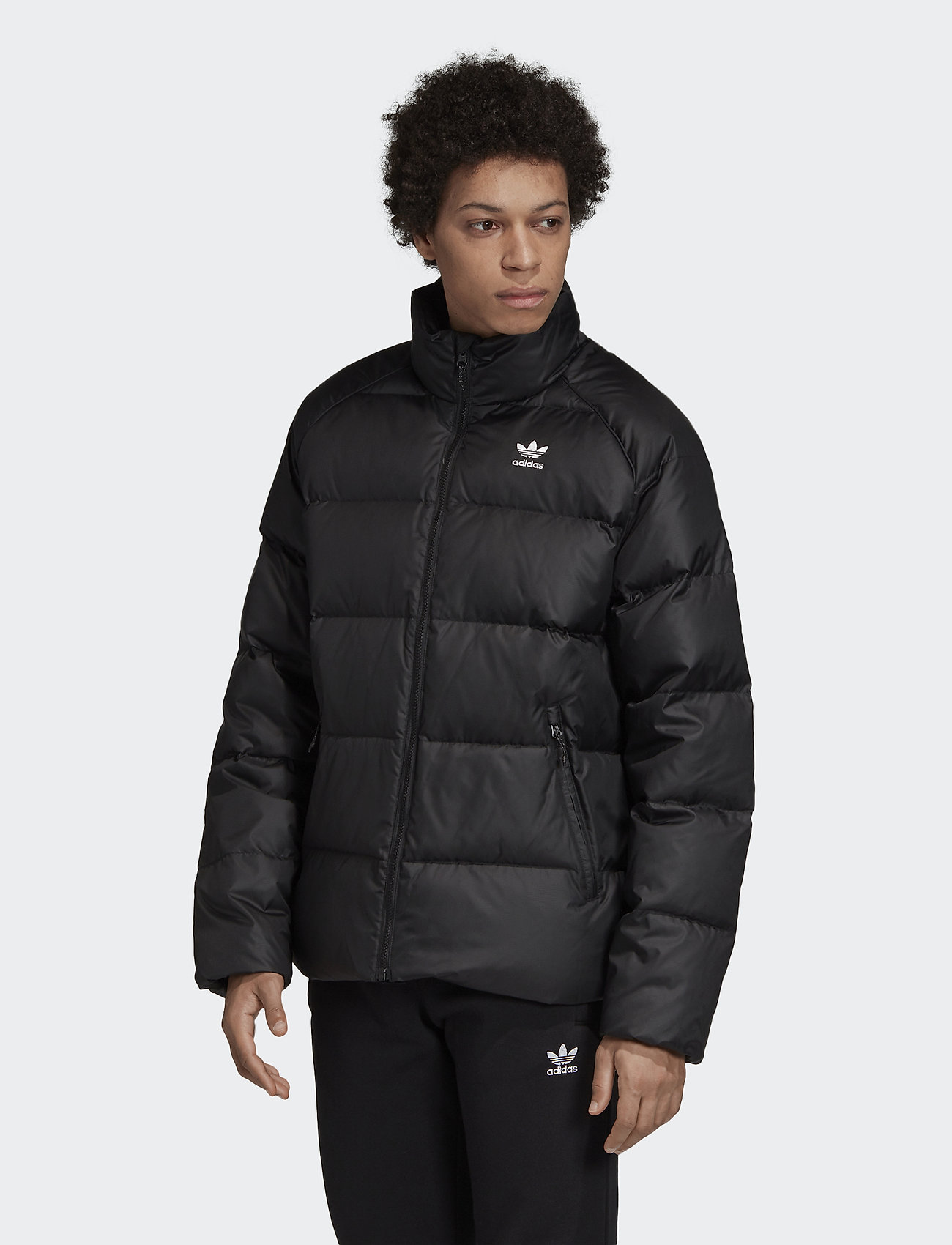 adidas Originals - JACKET DOWN - kurtki puchowe - black - 0