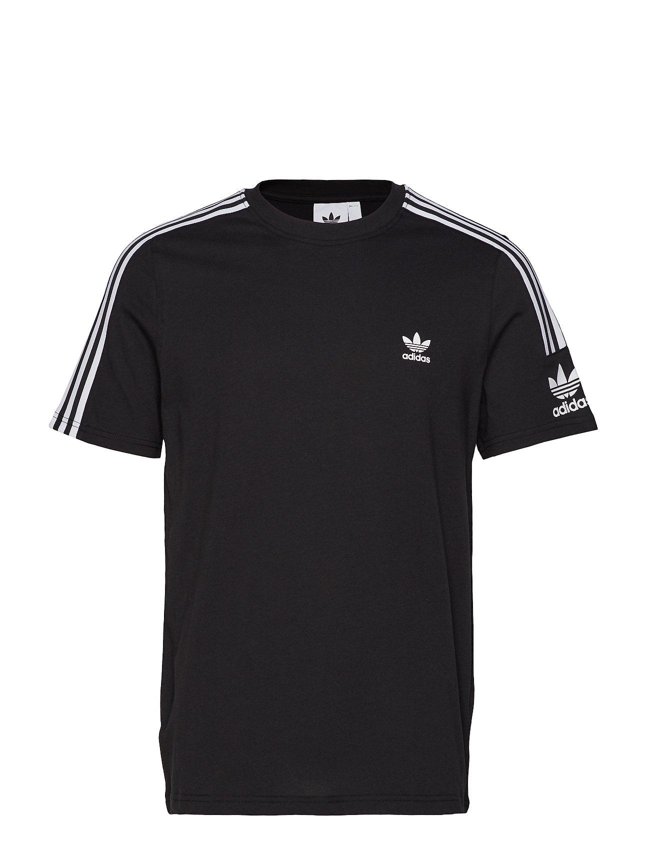 adidas Originals TECH TEE - BLACK