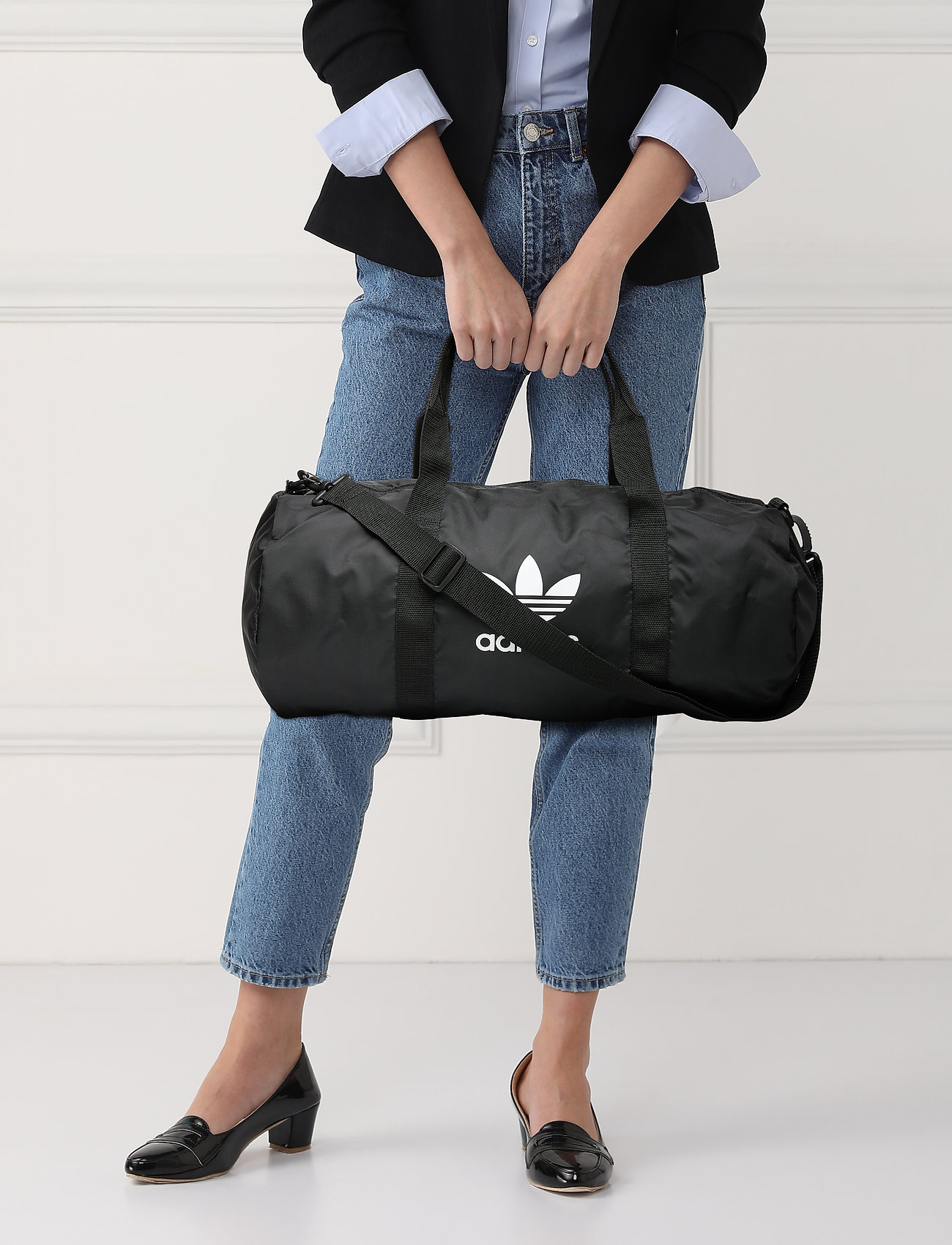 adidas Originals AC DUFFLE - BLACK