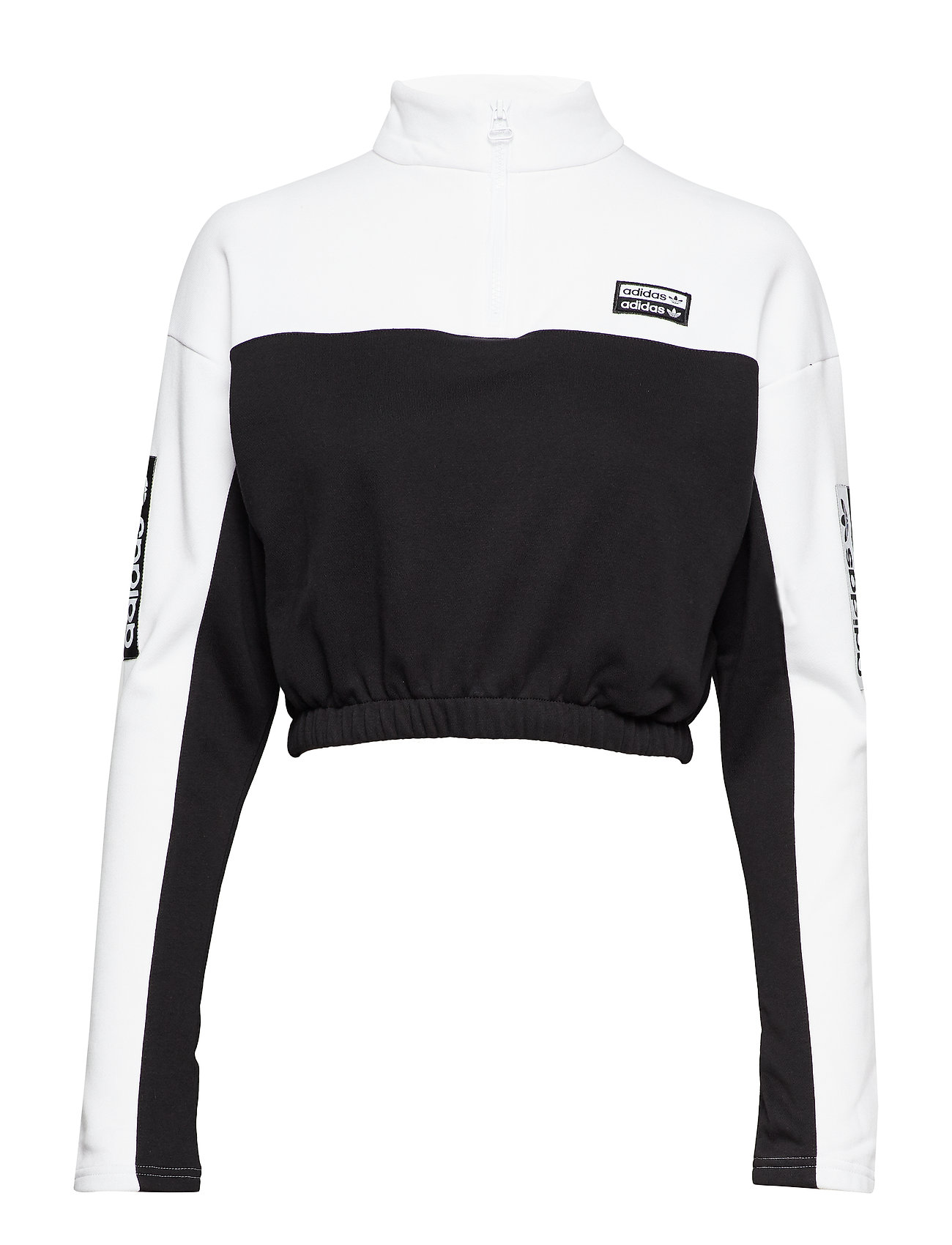 adidas Originals SWEATER - WHITE/BLACK