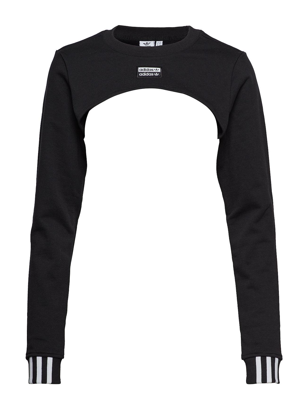 adidas Originals SHRUG SWEAT - BLACK