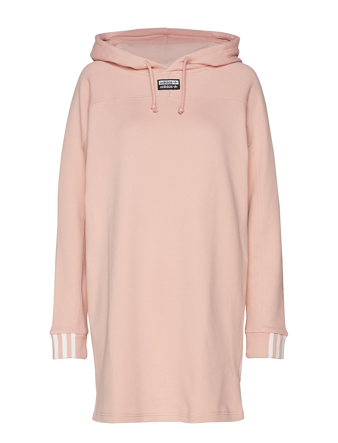 adidas Originals HOODED DRESS - PNKSPI