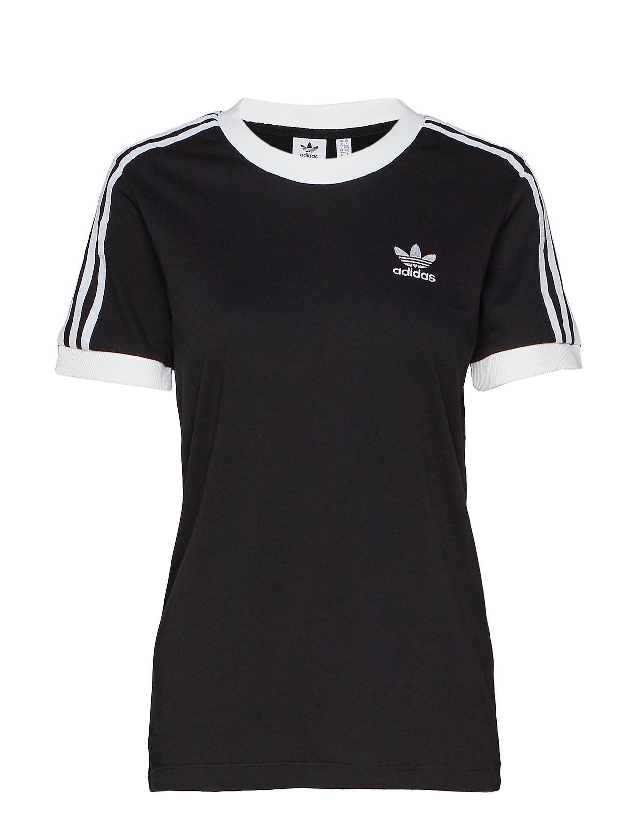 adidas Originals 3 STR TEE - BLACK