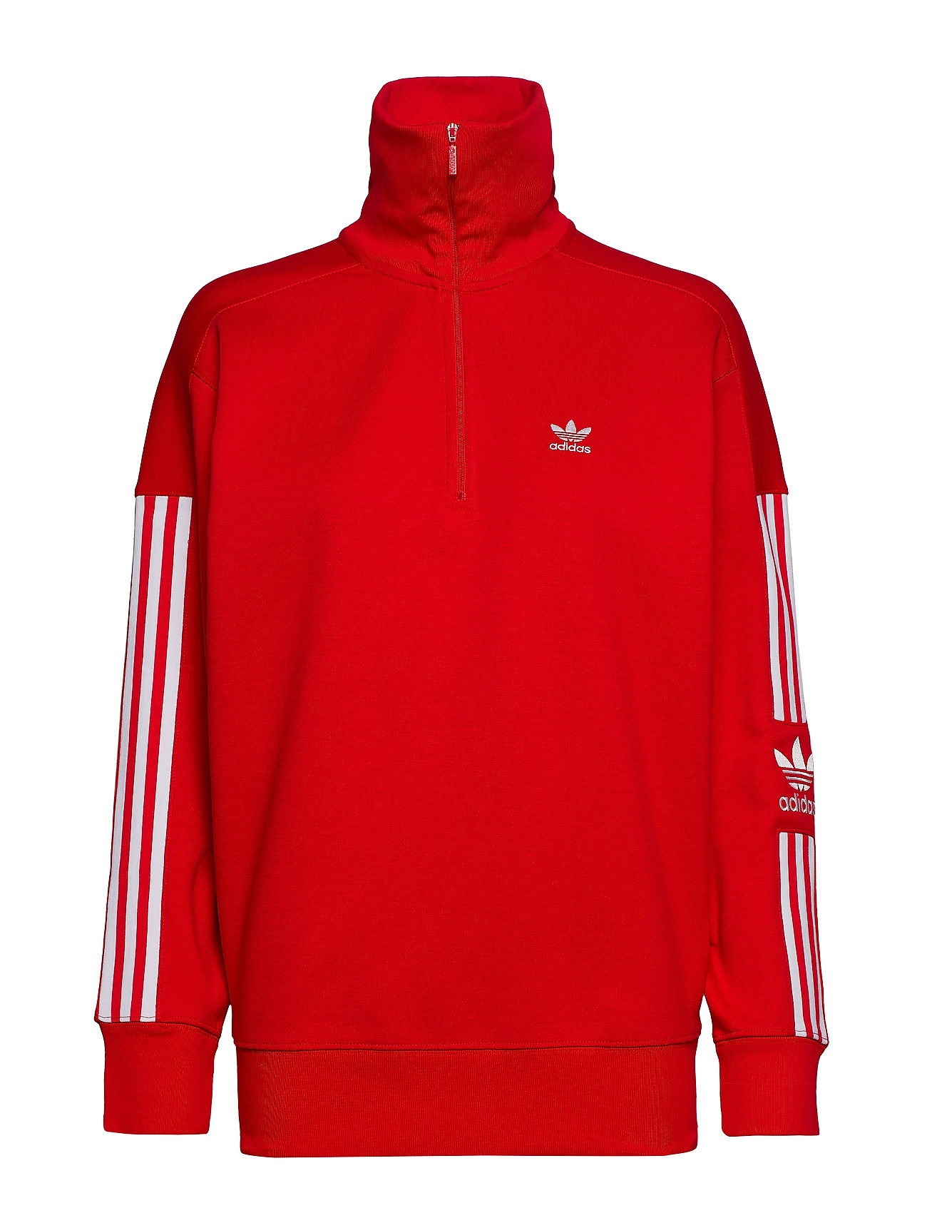 adidas Originals LOCK UP SWEAT - SCARLE