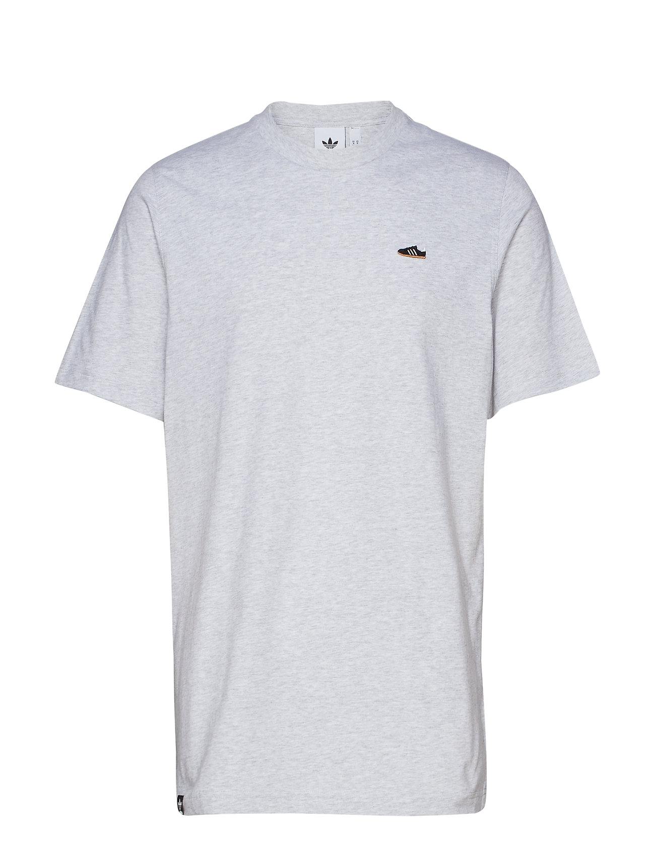 adidas Originals MINI EMB TEE - LGREYH