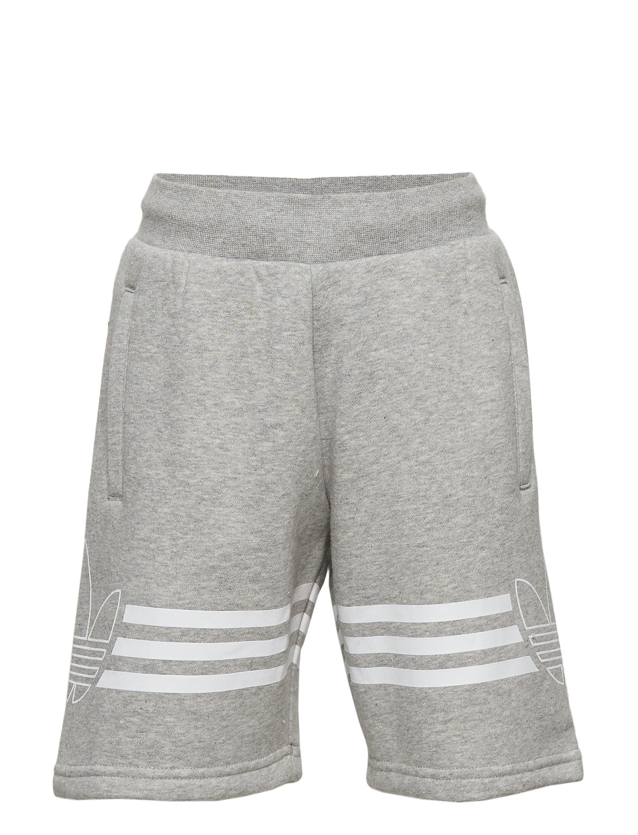 adidas Originals OUTLINE SHORTS - MGREYH/WHITE