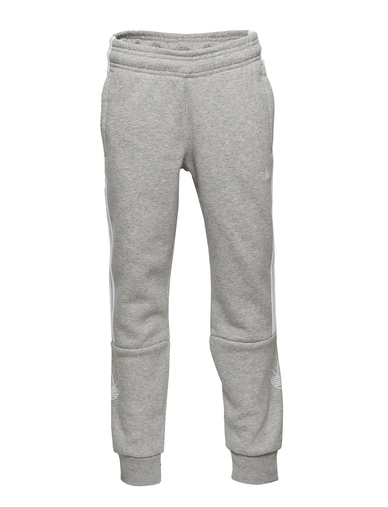 adidas Originals OUTLINE PANTS - MGREYH/WHITE
