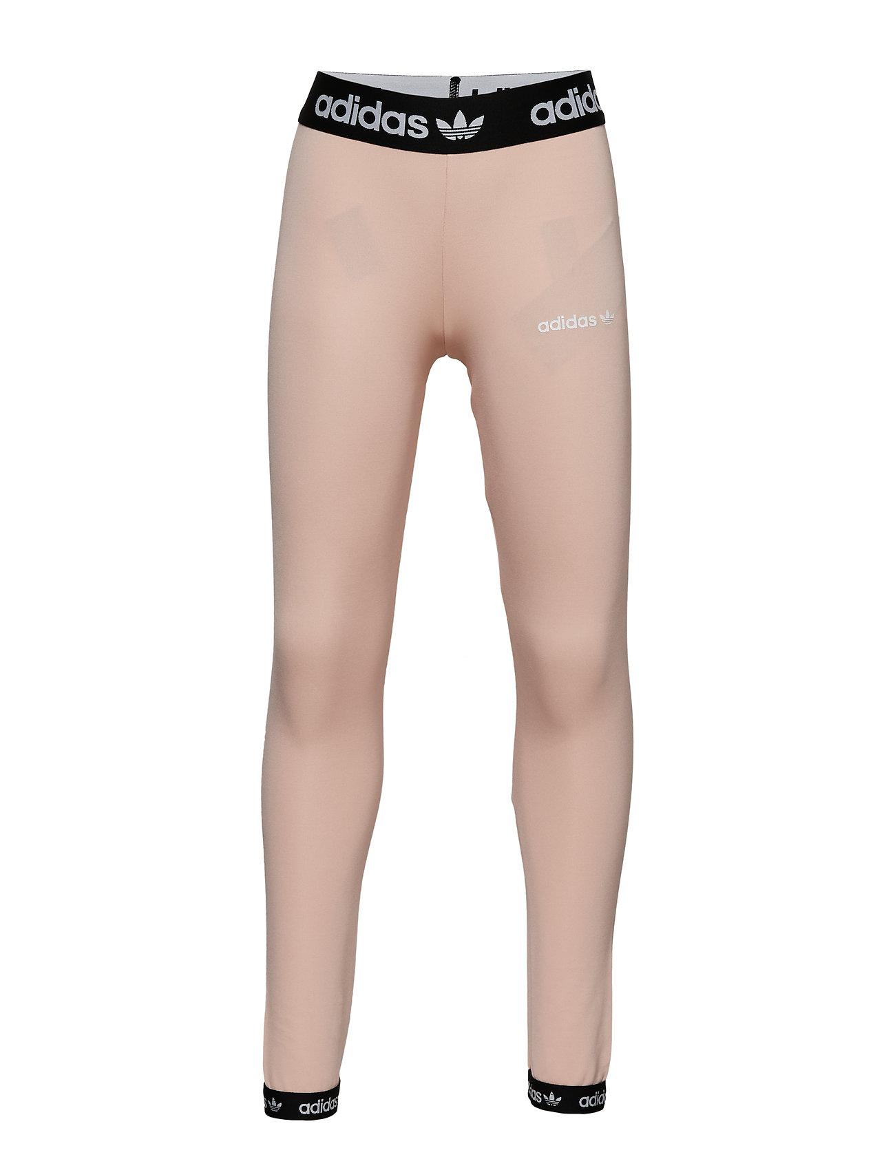 adidas Originals POLY LEGGINGS - GLOPNK/BLACK/WHITE