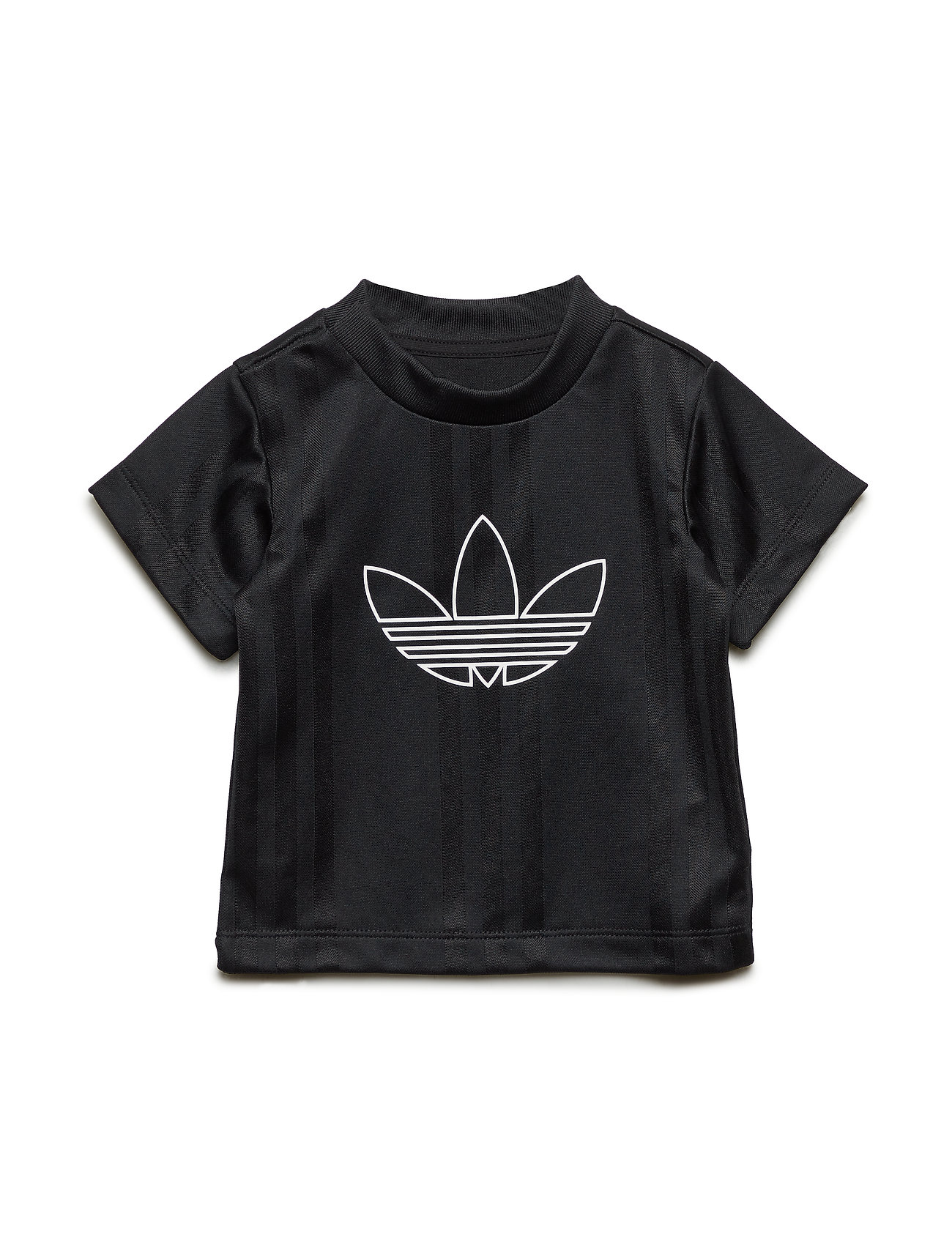adidas Originals OUTLINE JERSEY - BLACK/WHITE