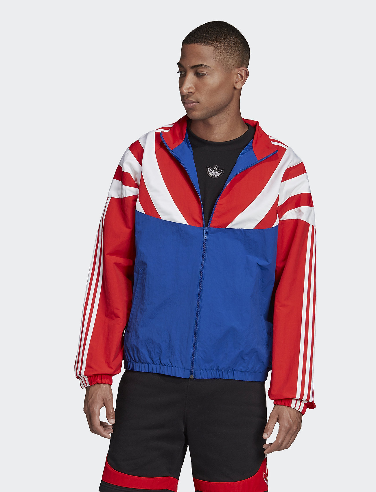 adidas Originals - BLNT 96 TT - athleisure jackets - croyal/red - 0
