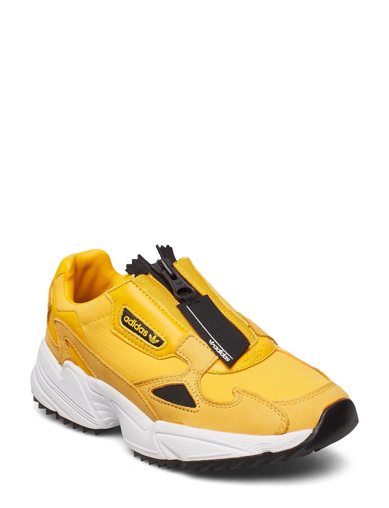 adidas Originals Sko Falcon Zip W Gul