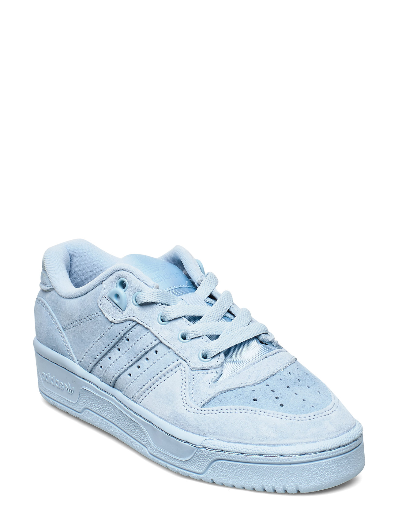 adidas Originals RIVALRY LOW J - CLESKY/CLESKY/FTWWHT