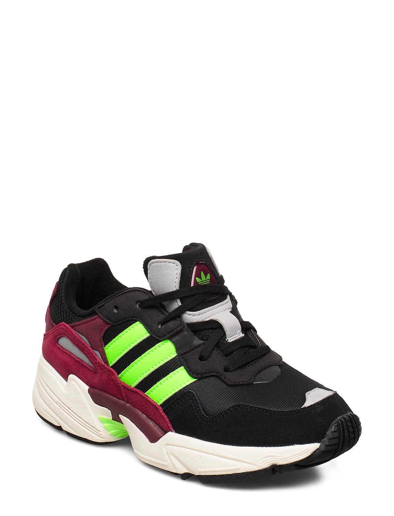 adidas Originals YUNG-96 J - CBLACK/SGREEN/CBURGU