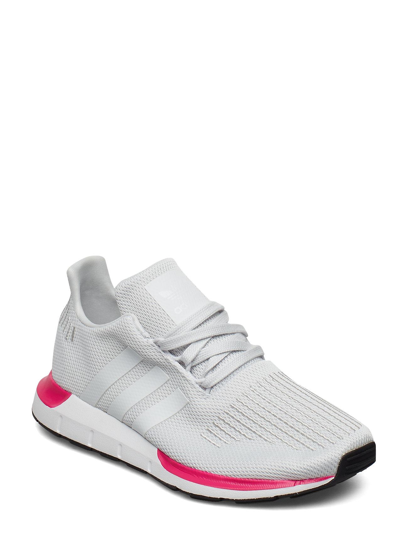 adidas Originals SWIFT RUN J - CRYWHT/CRYWHT/CBLACK
