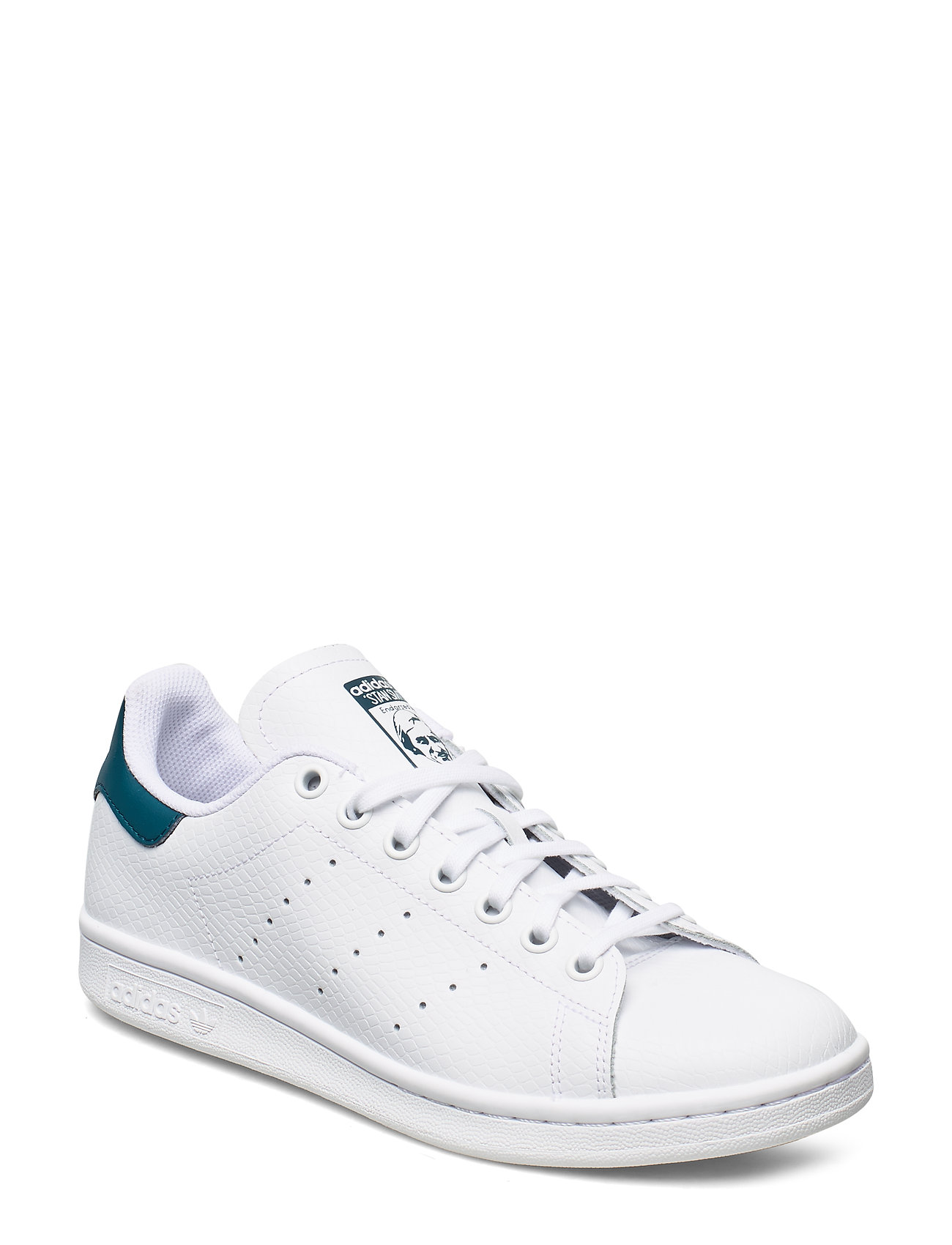 adidas Originals STAN SMITH J - FTWWHT/FTWWHT/TECMIN