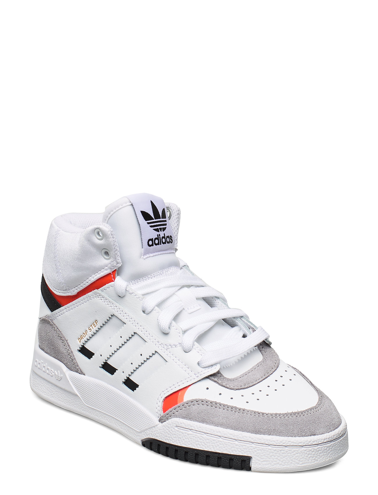 adidas Originals DROP STEP J - FTWWHT/LGRANI/SOLRED