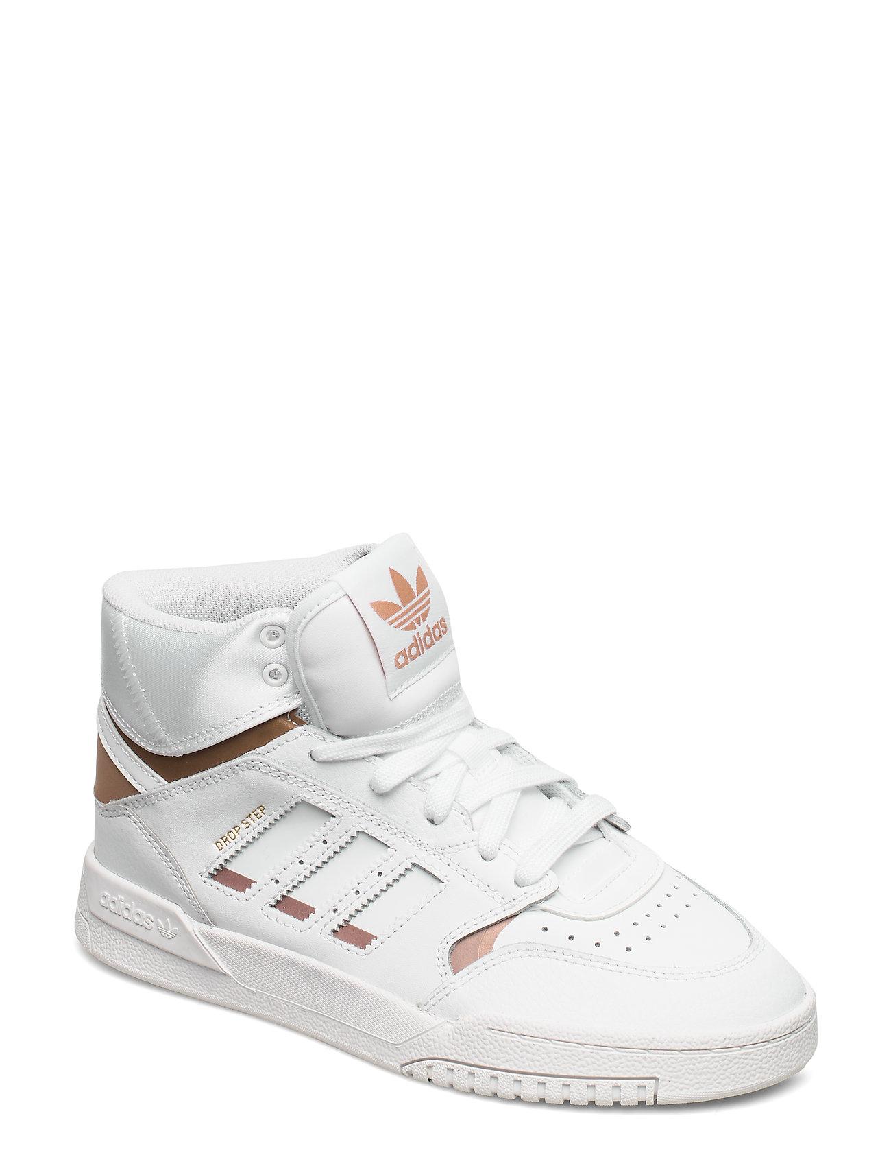 adidas Originals DROP STEP J - FTWWHT/COPPMT/FTWWHT