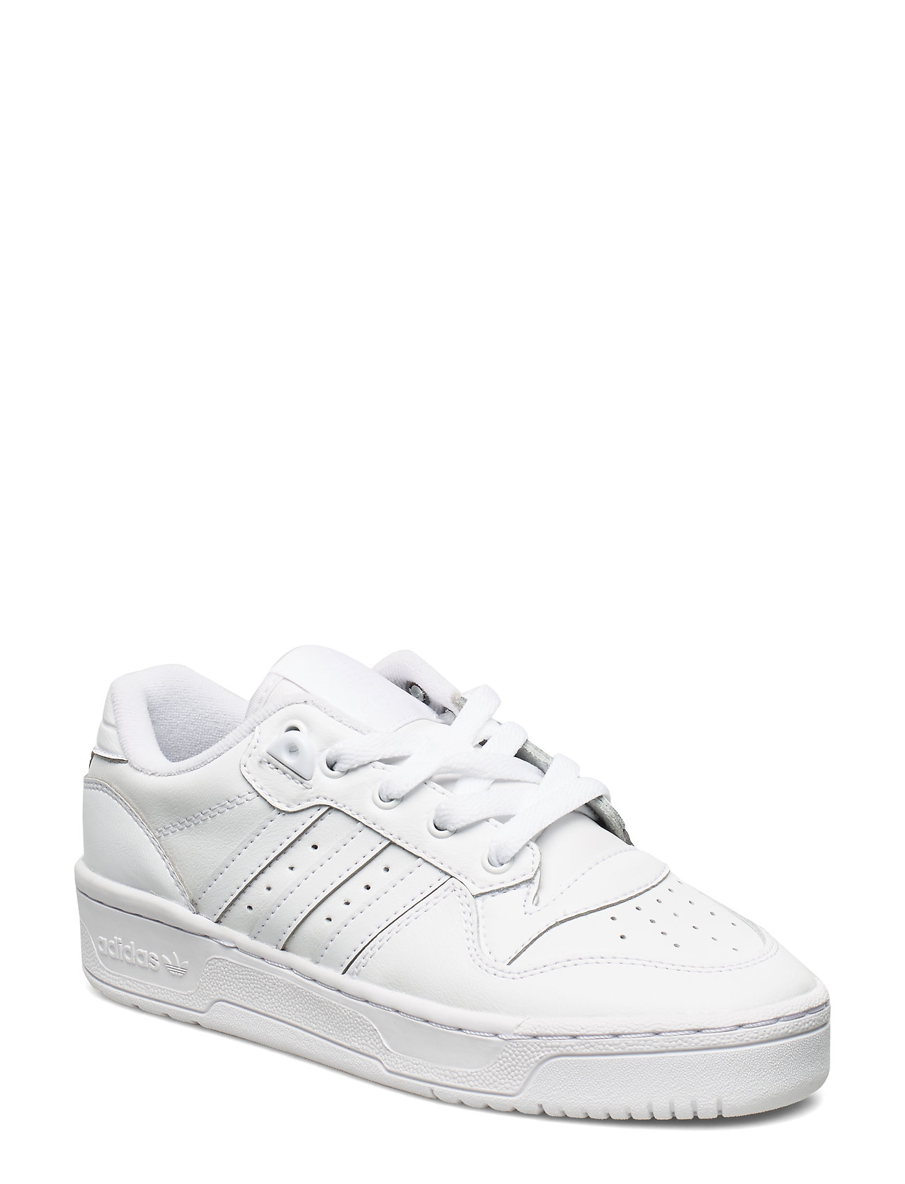 adidas Originals RIVALRY LOW J - FTWWHT/FTWWHT/CBLACK