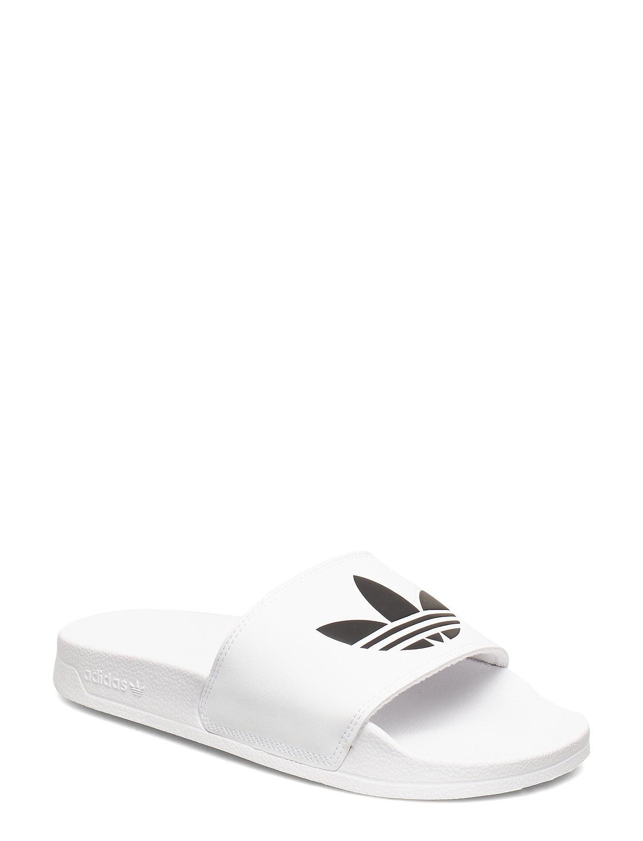 adidas Originals ADILETTE LITE J - FTWWHT/CBLACK/FTWWHT