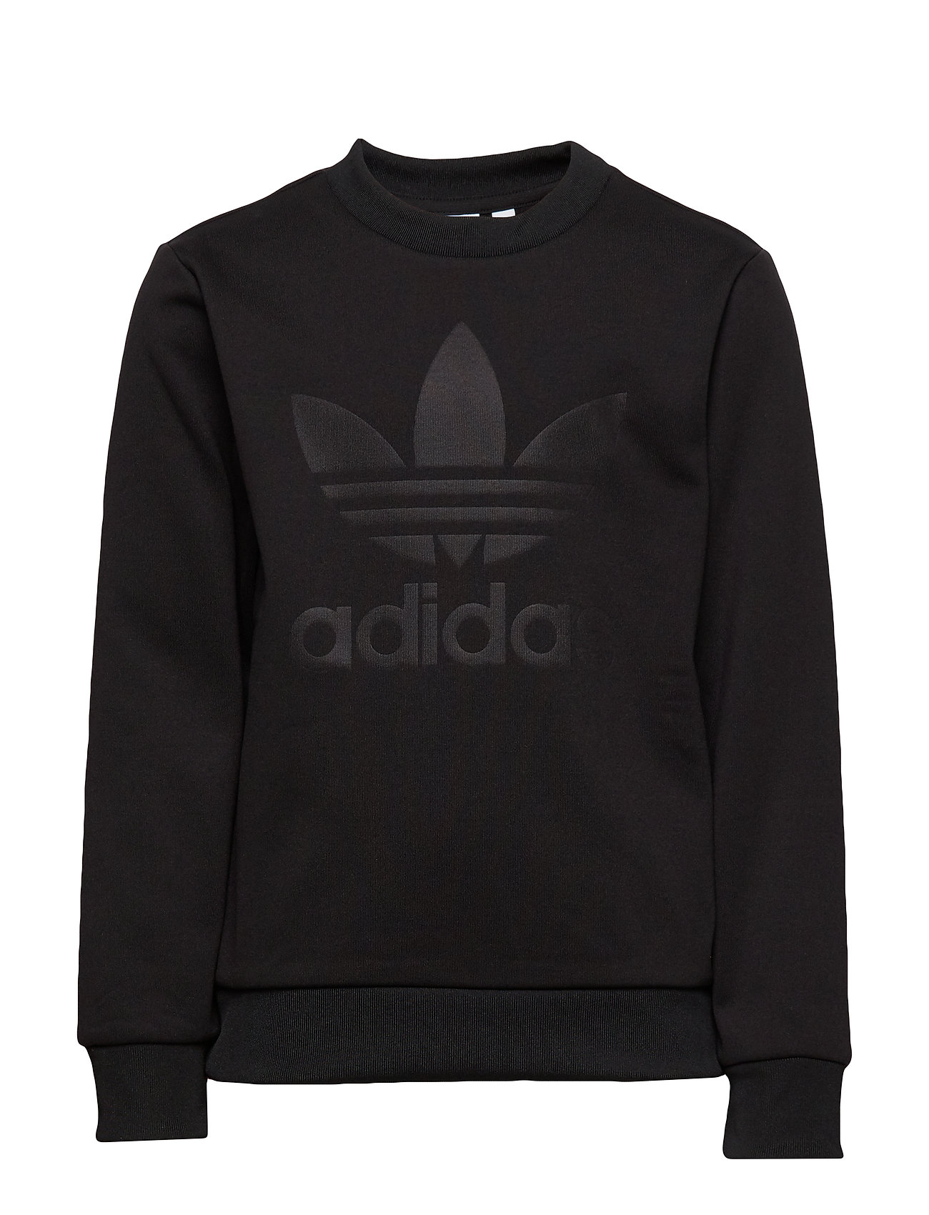 adidas Originals DEBOSSED CREW - BLACK