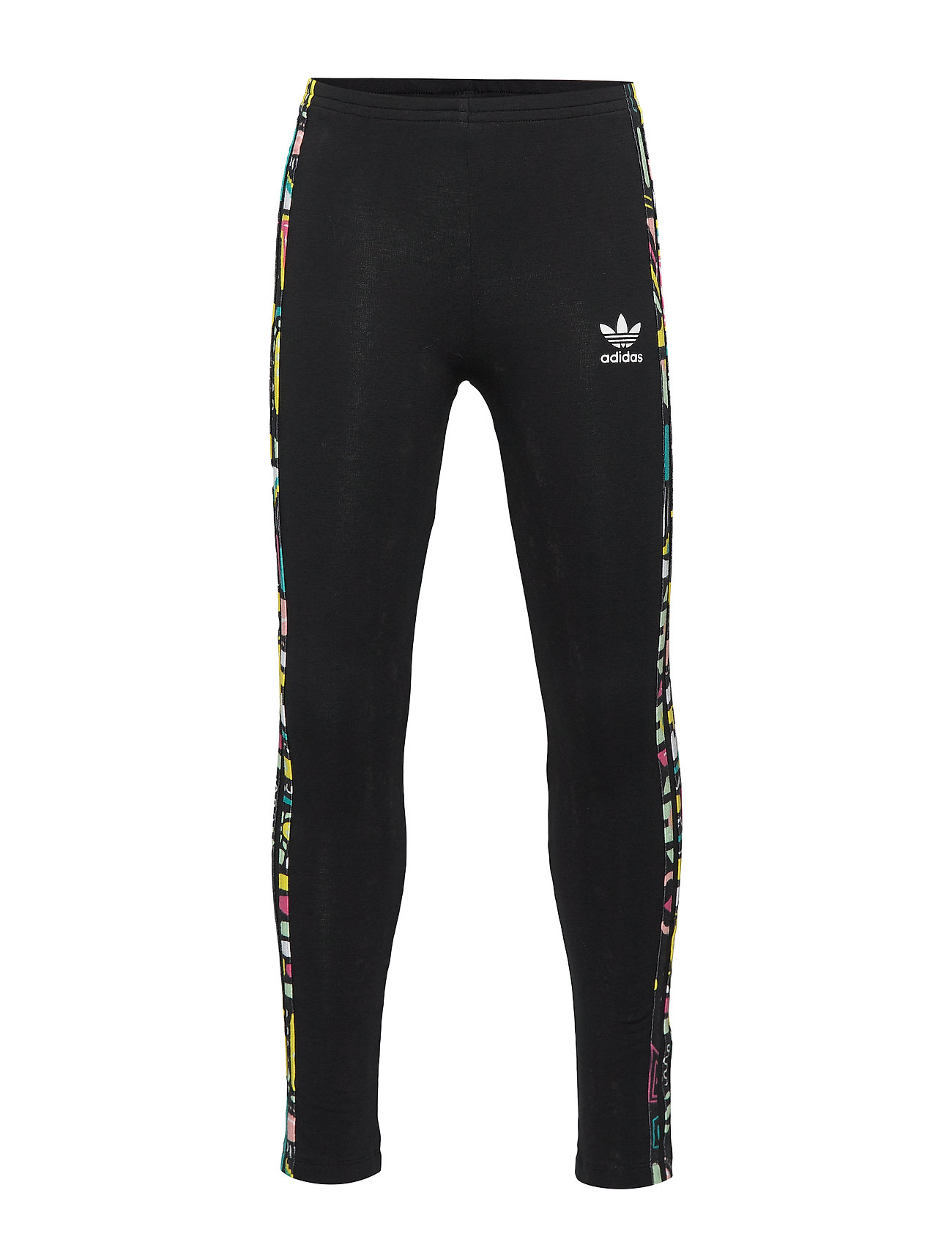 adidas Originals LEGGINGS SOLID - BLACK/MULTCO