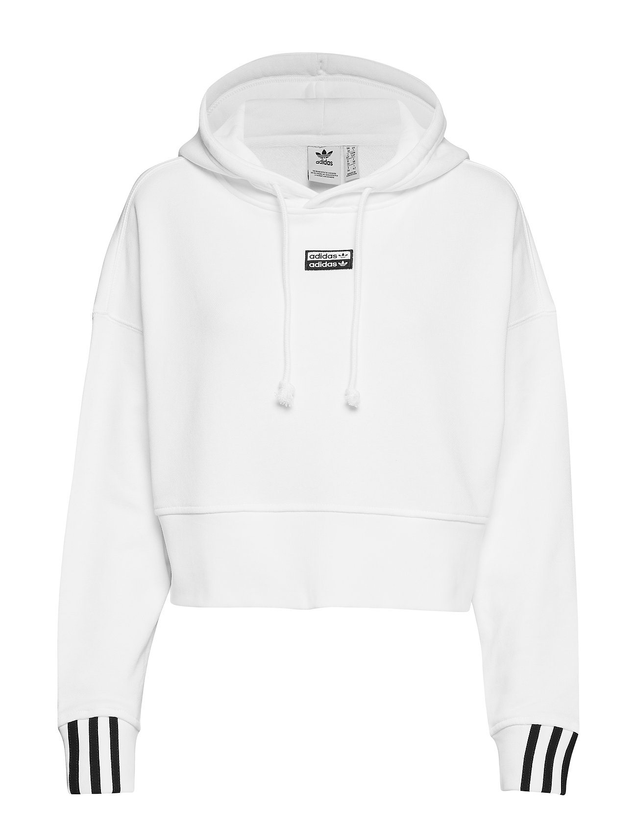 adidas Originals VOCAL CROP HOOD - WHITE