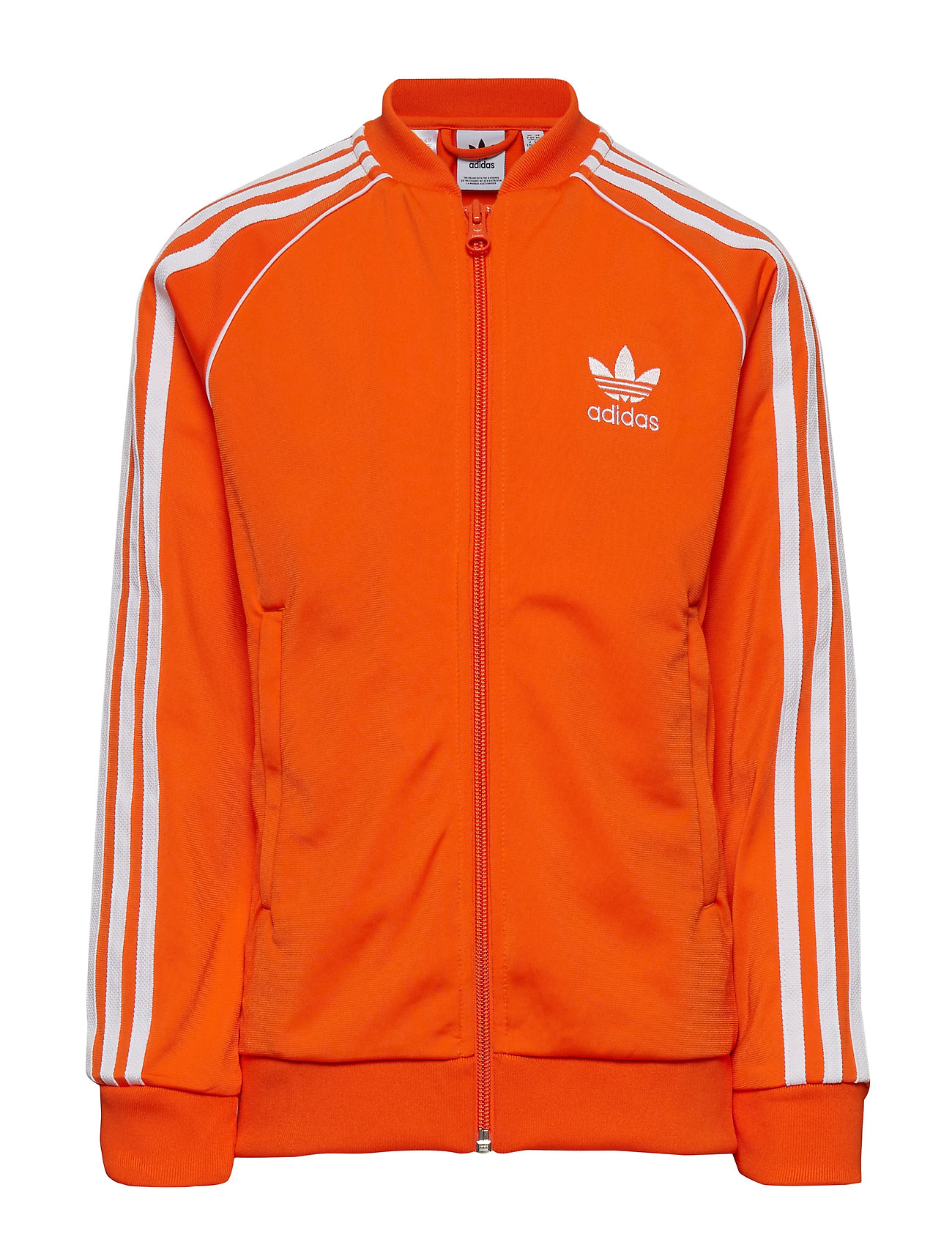 adidas Originals SUPERSTAR TOP - ORANGE/WHITE