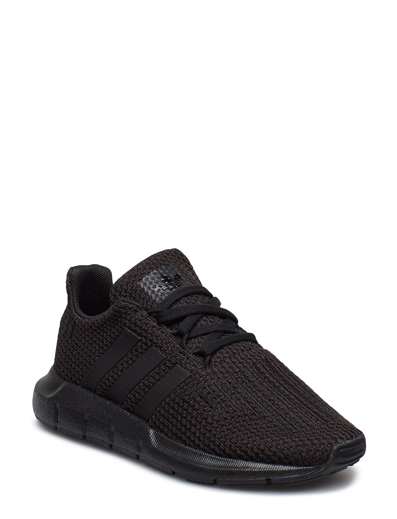 adidas Originals SWIFT RUN C - CBLACK/CBLACK/CBLACK