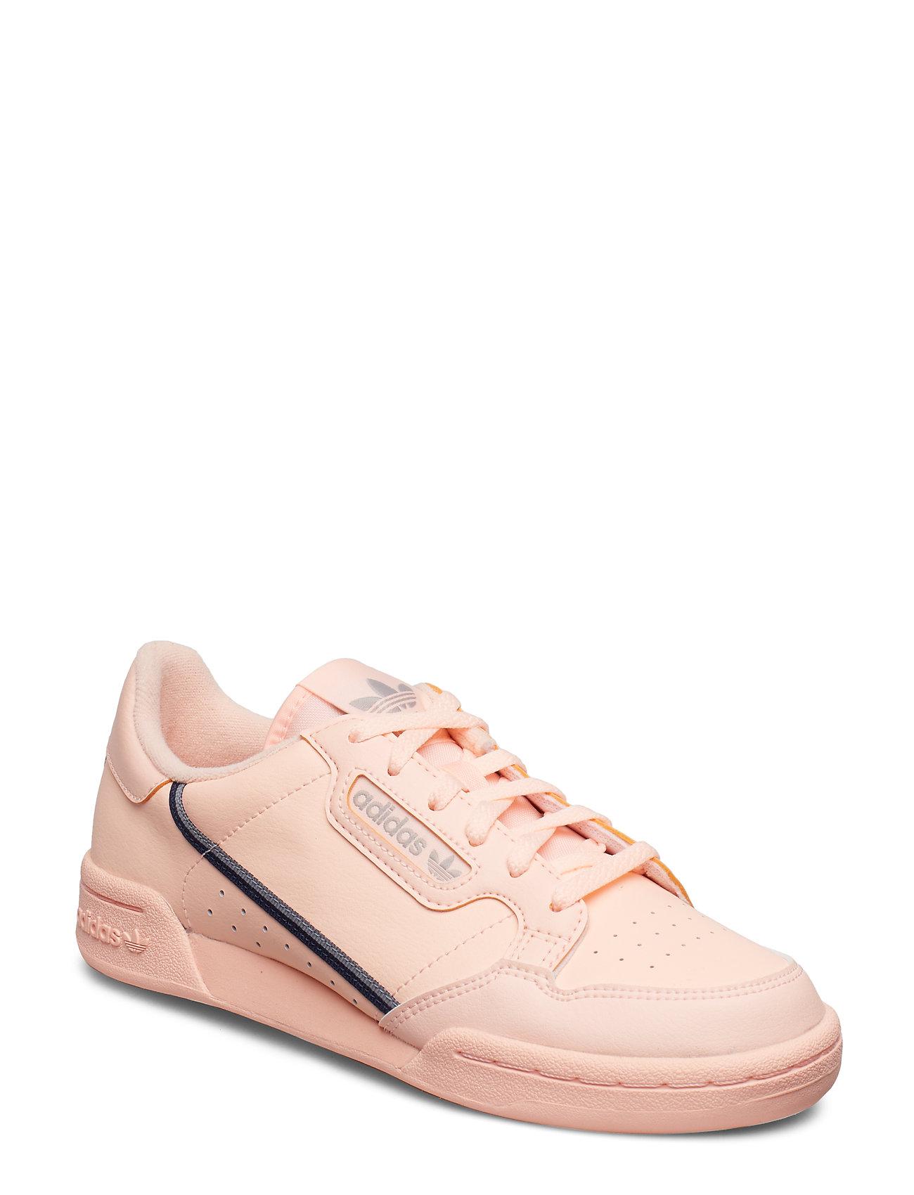adidas Originals CONTINENTAL 80 J - CLEORA/LBROWN/ECRTIN