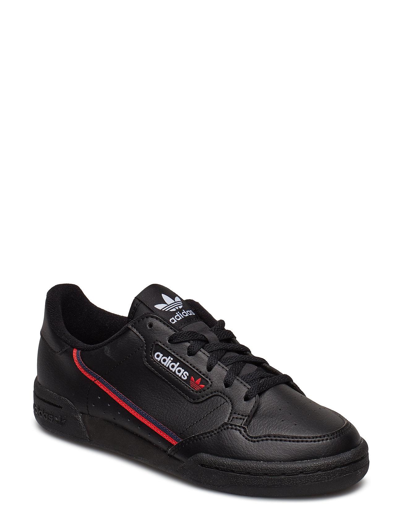 adidas Originals CONTINENTAL 80 J - CBLACK/SCARLE/CONAVY