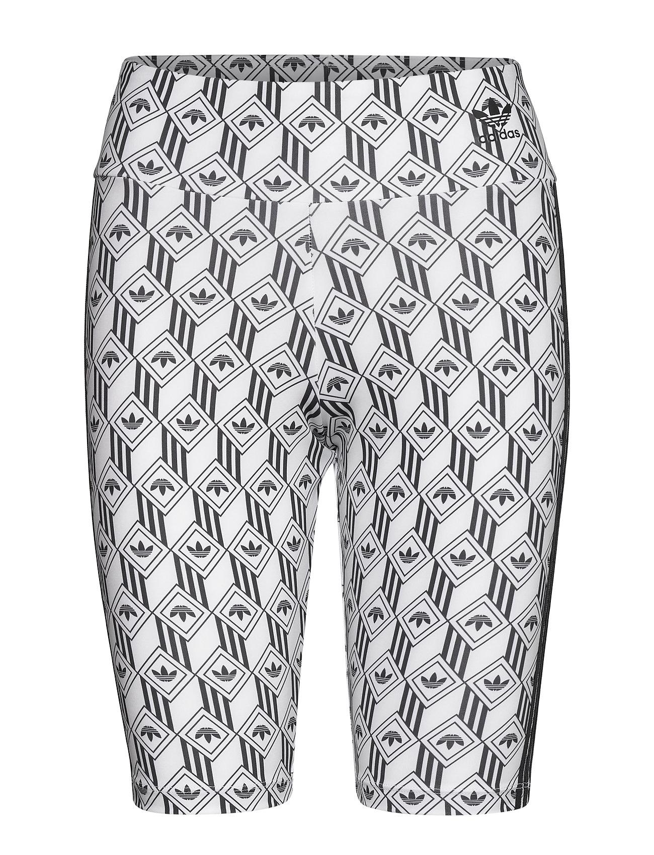 adidas Originals CYCLING SHORTS - BLACK/WHITE