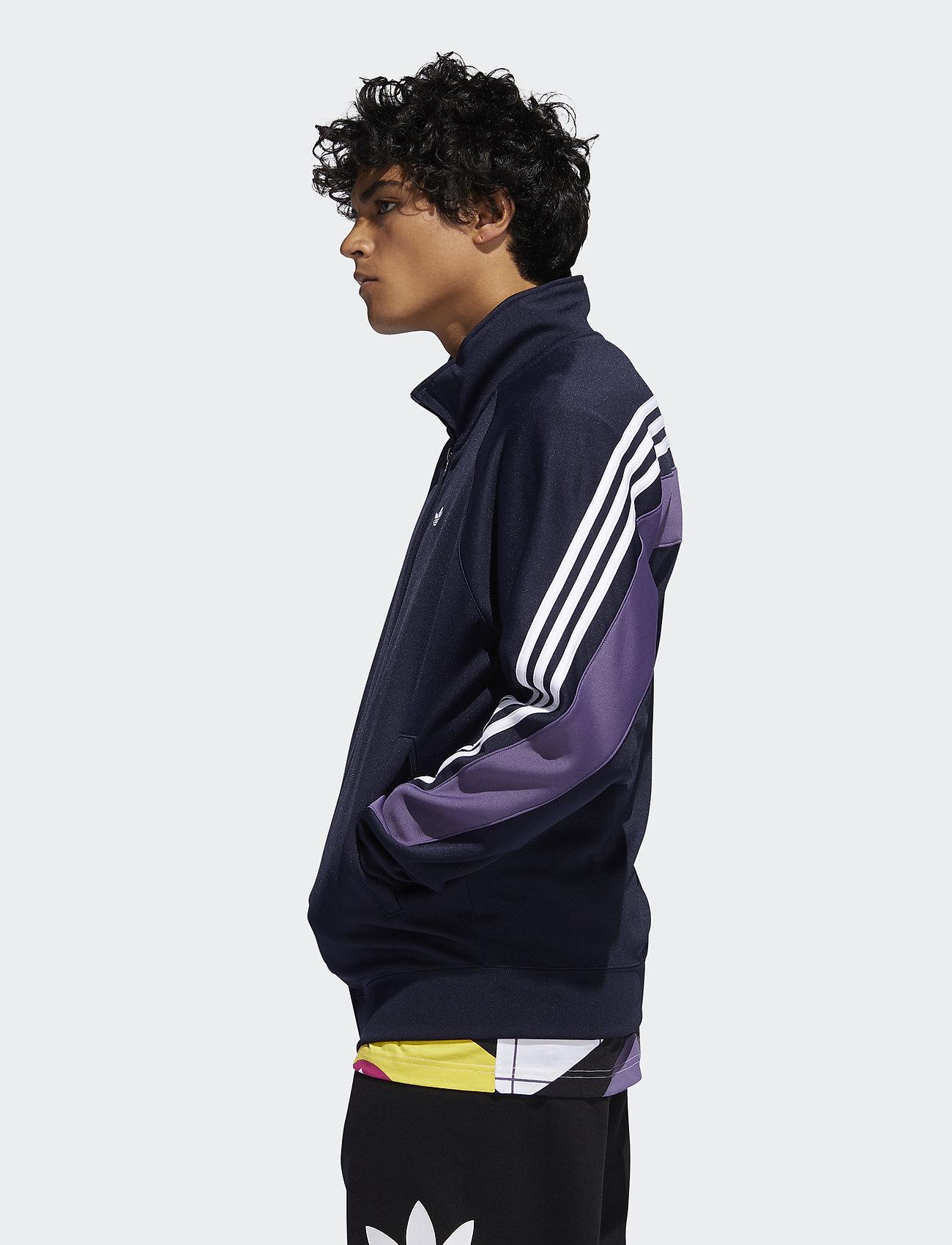 adidas Originals - 3STRIPE WRAP TT - track jackets - legink/white - 0
