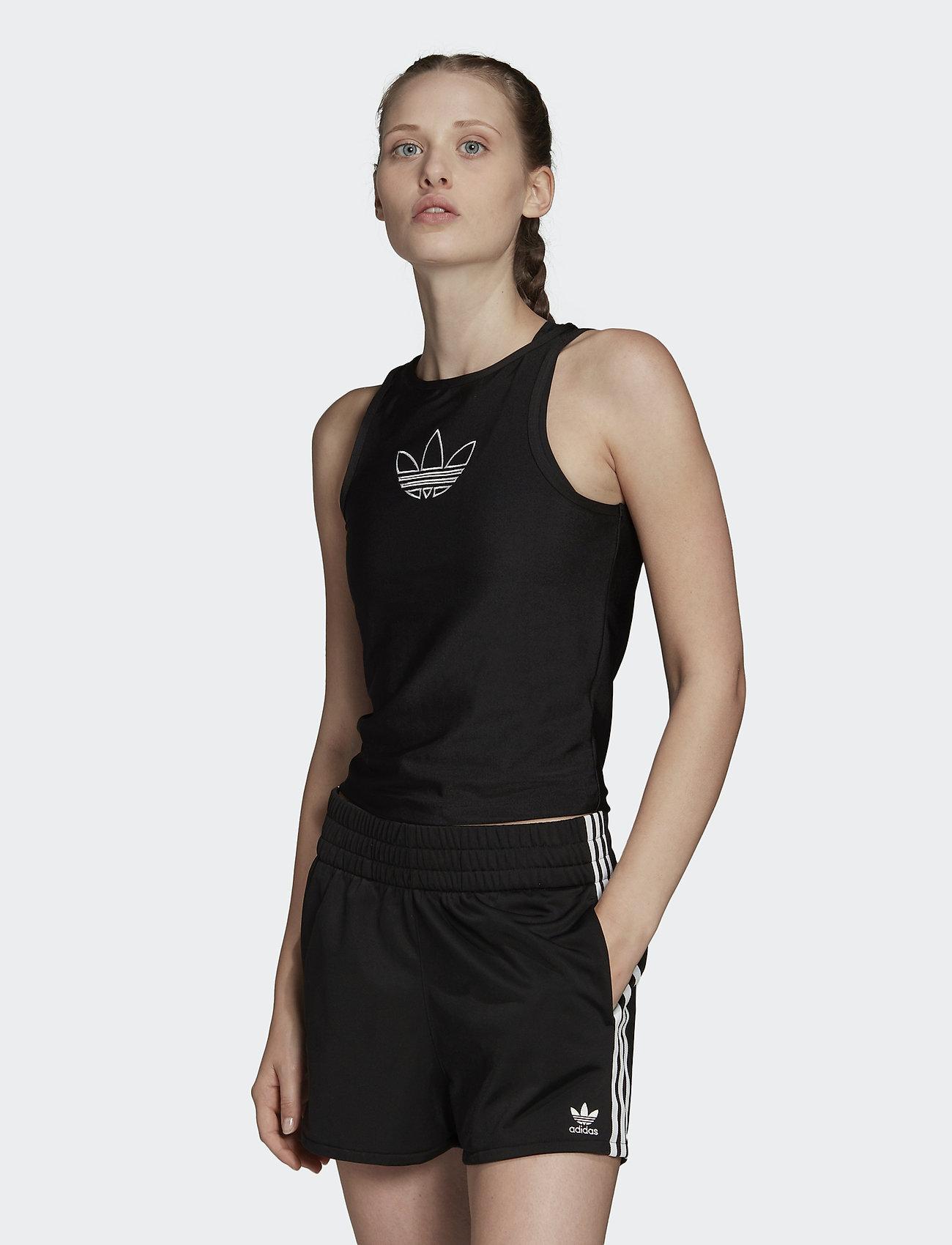 adidas Originals - TANK - sporttoppar - black - 0
