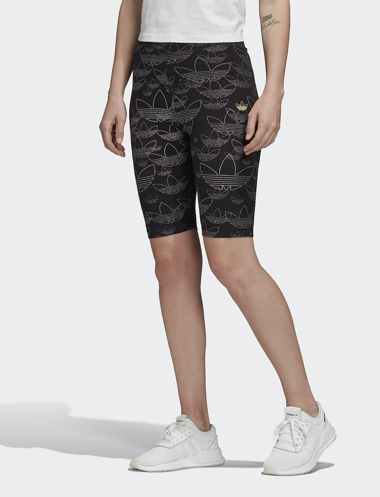 adidas Originals - AOP SHORT TIGHT - spodenki treningowe - black - 0