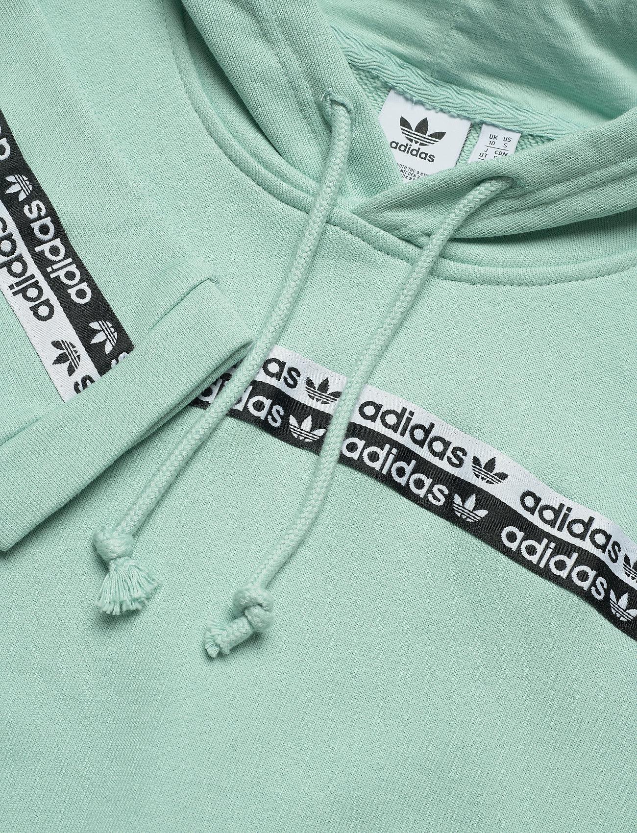Cropped Hoodie (Grntnt) (549 kr) - adidas Originals