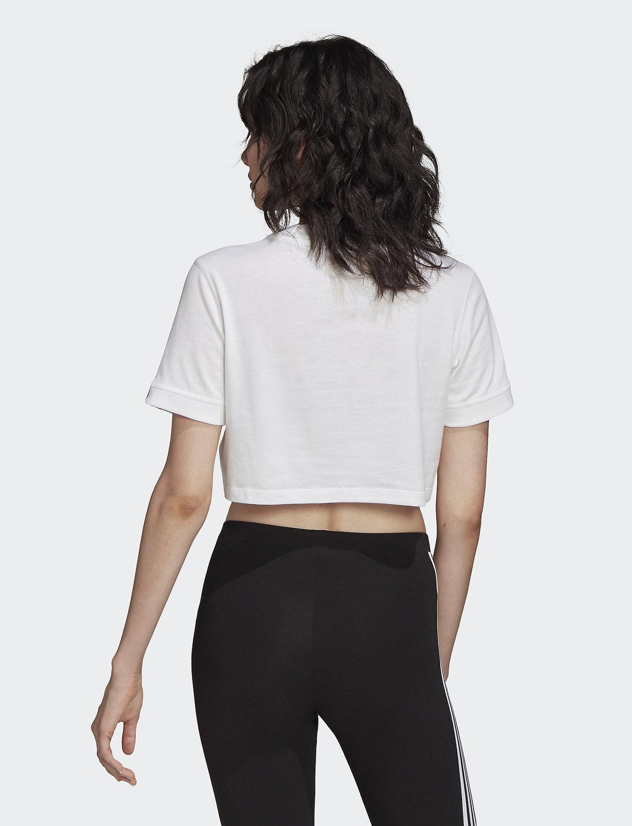 Tee Cropped (White) (279 kr) - adidas Originals