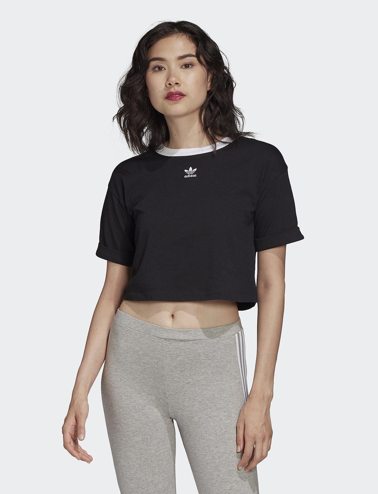 adidas t shirt crop top