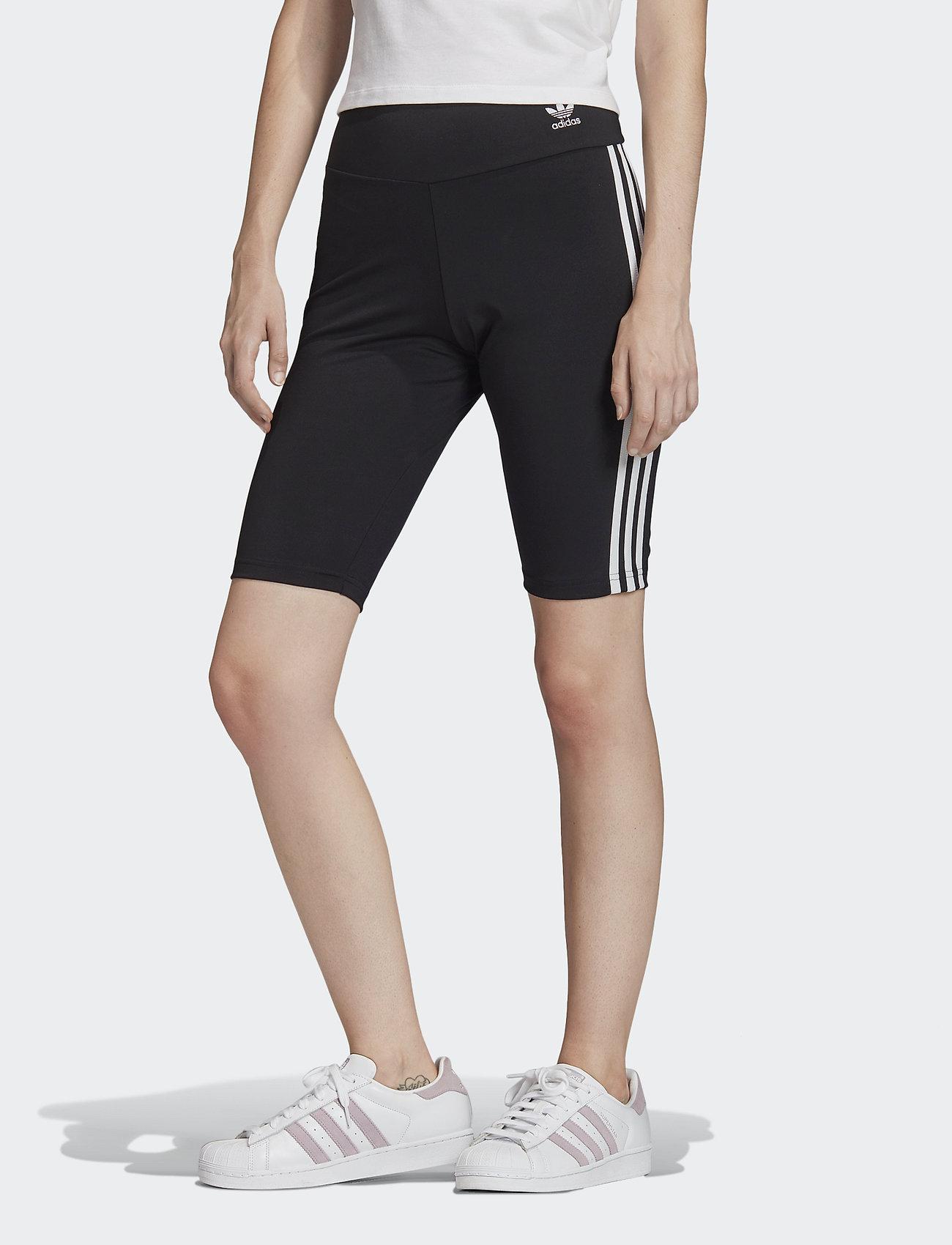 adidas Originals - SHORT TIGHTS - träningsshorts - black/white - 0