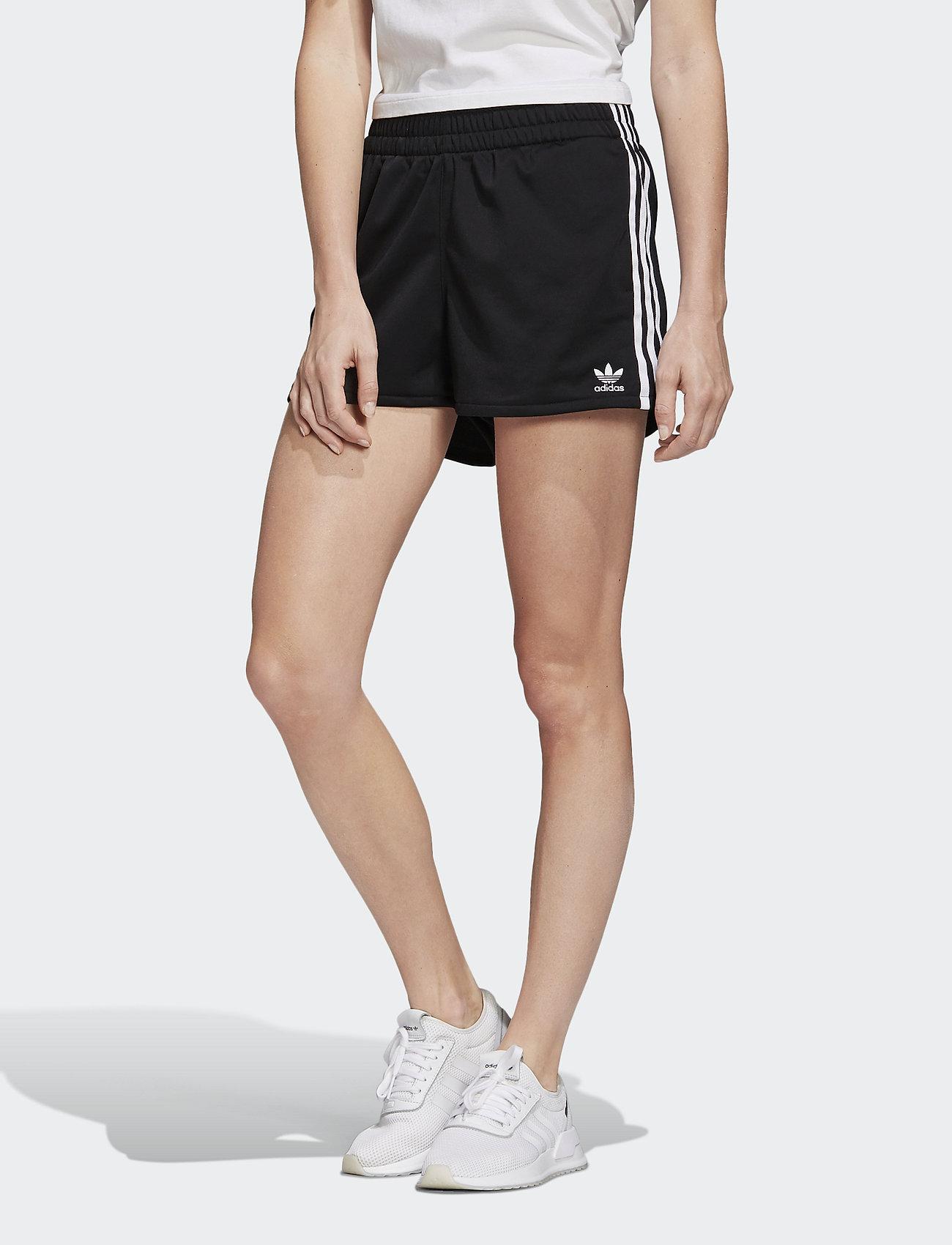 adidas Originals - 3 STR SHORT - træningsshorts - black/white - 0