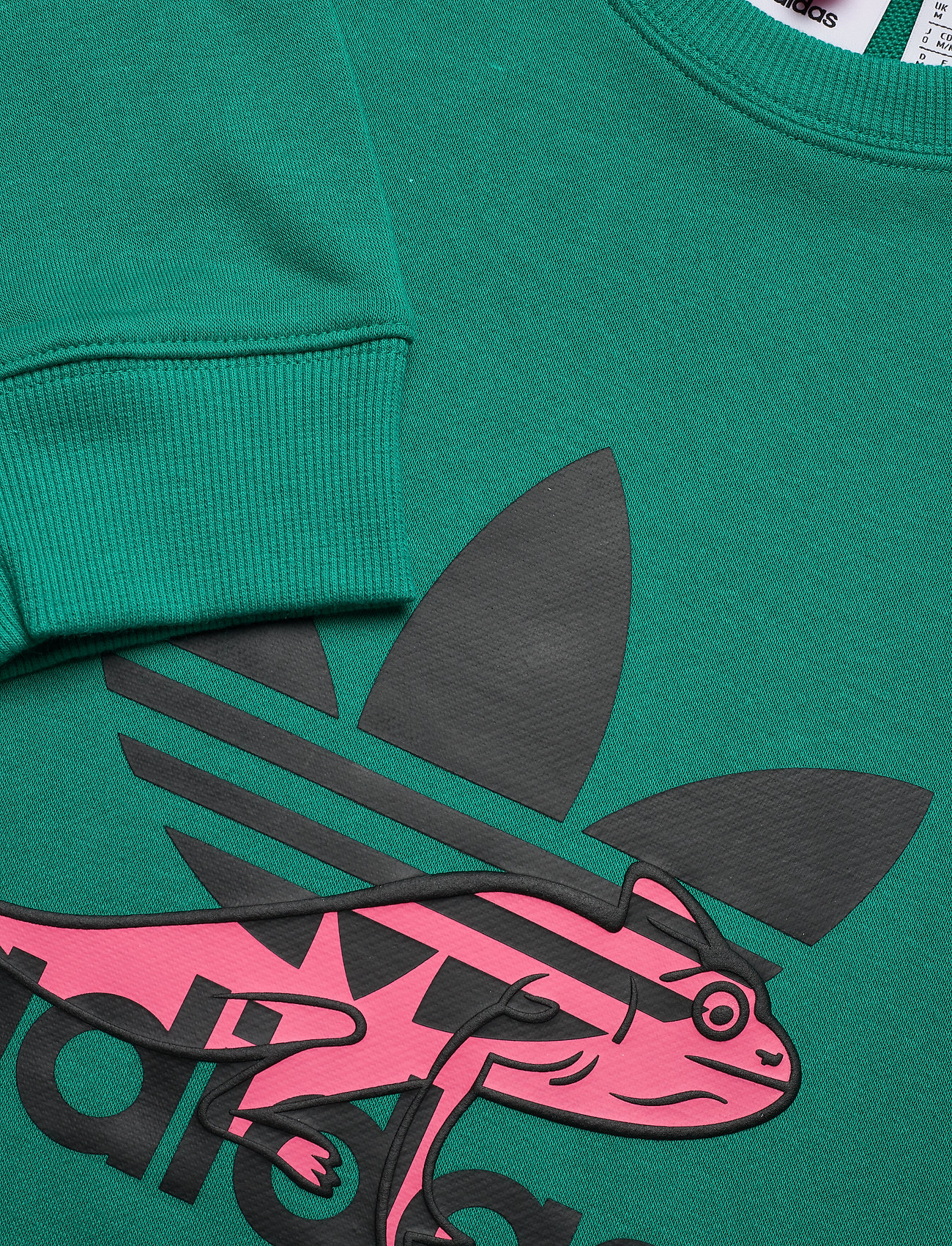 adidas Originals SWEATSHIRT - Sweatshirts GLRGRN - Menn Klær