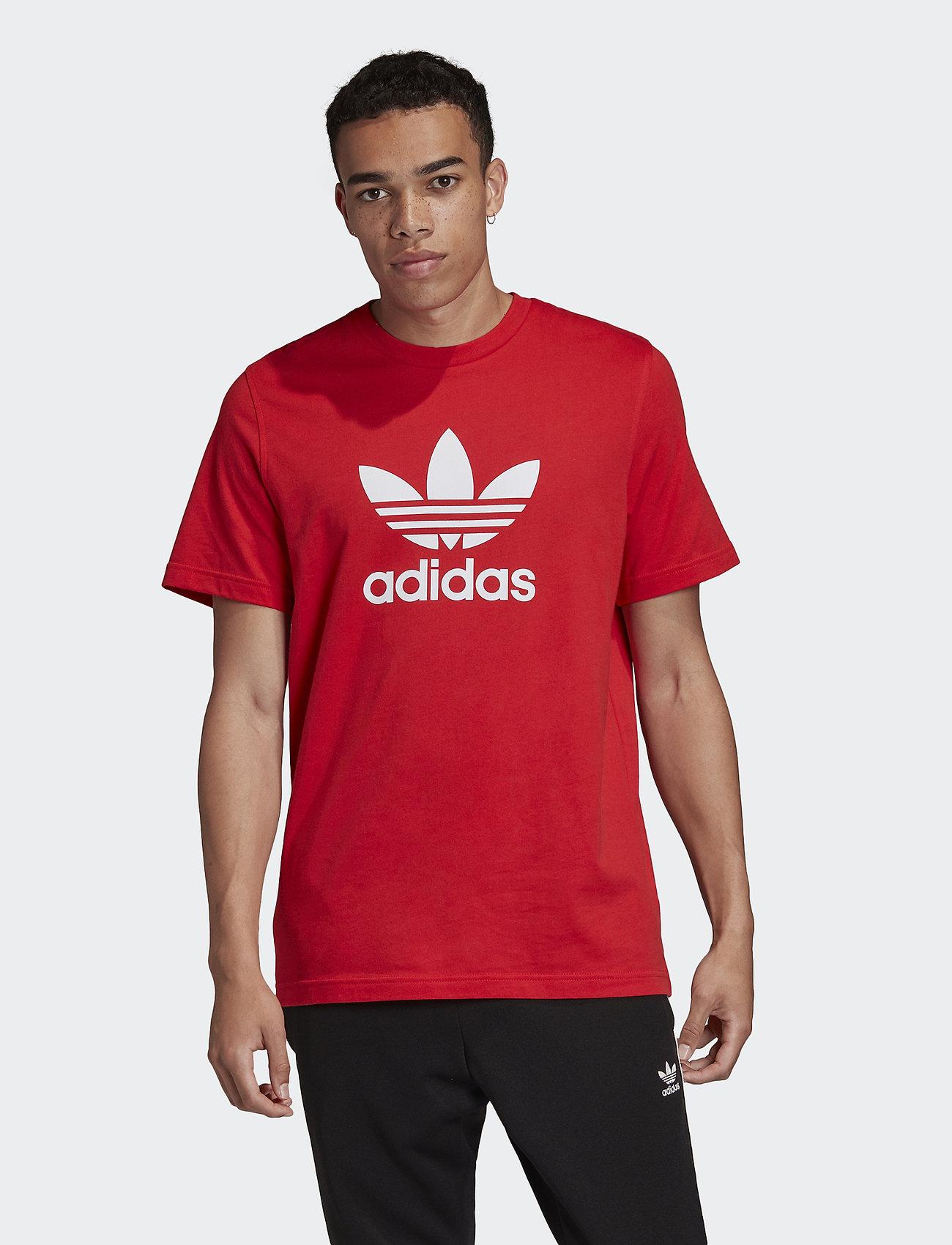 dos semanas conferencia Cenar  Trefoil T-shirt (Lusred) (18.71 €) - adidas Originals - | Boozt.com