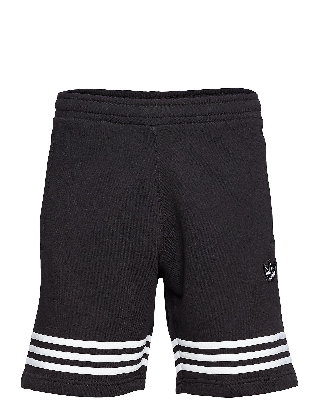 adidas Originals OUTLINE SHORT - BLACK