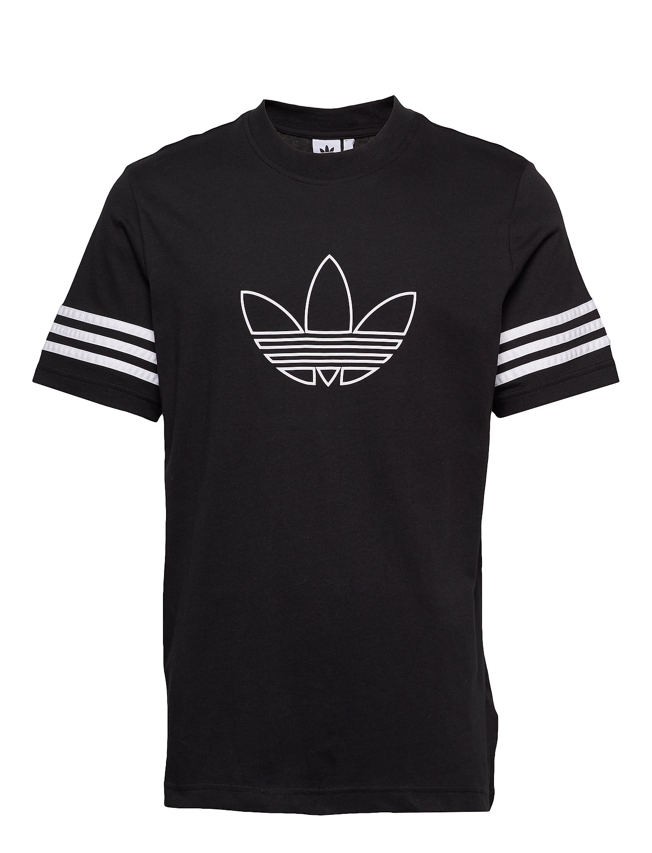 adidas Originals OUTLINE TEE - BLACK