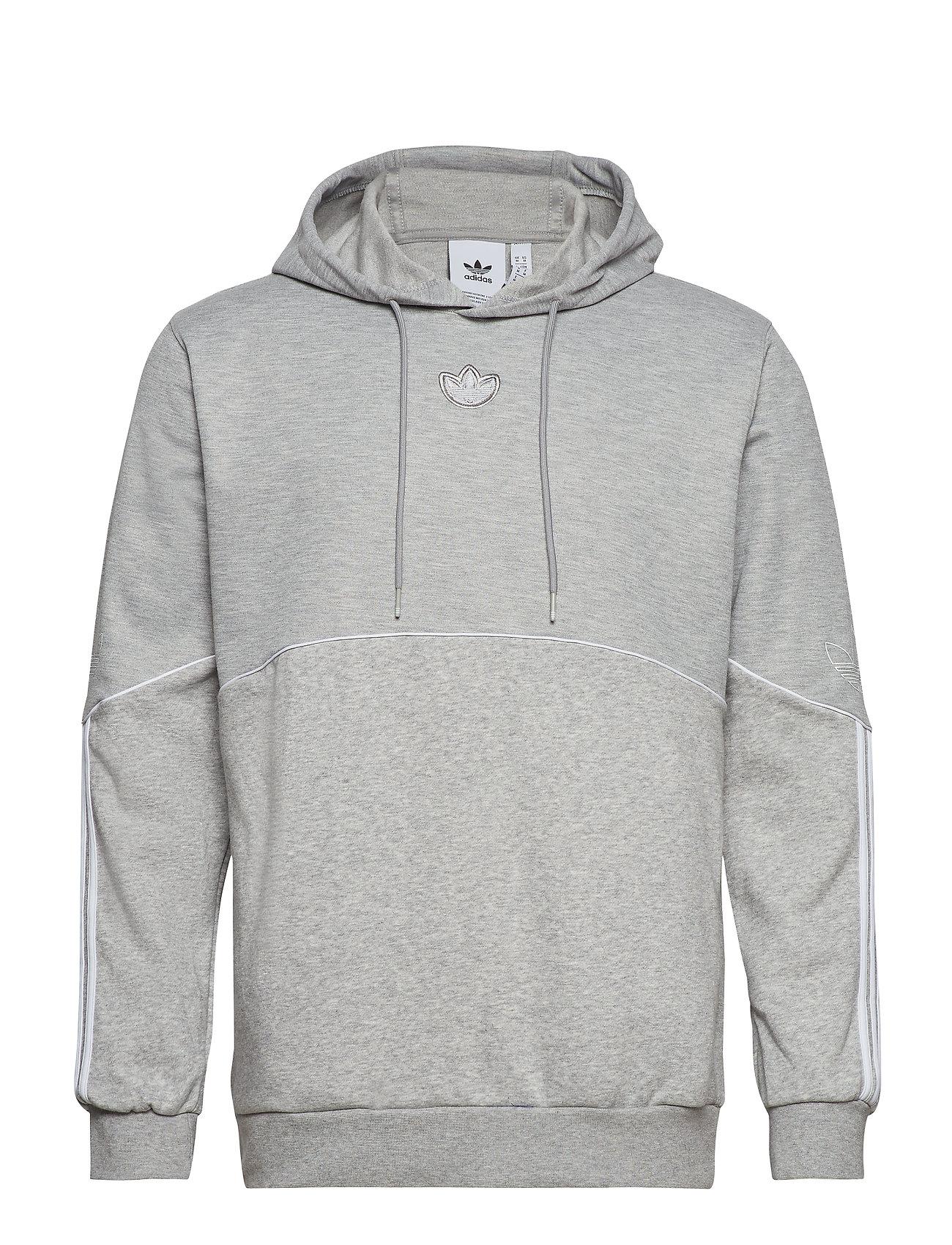 adidas Originals OUTLINE HDY FLC - MGREYH