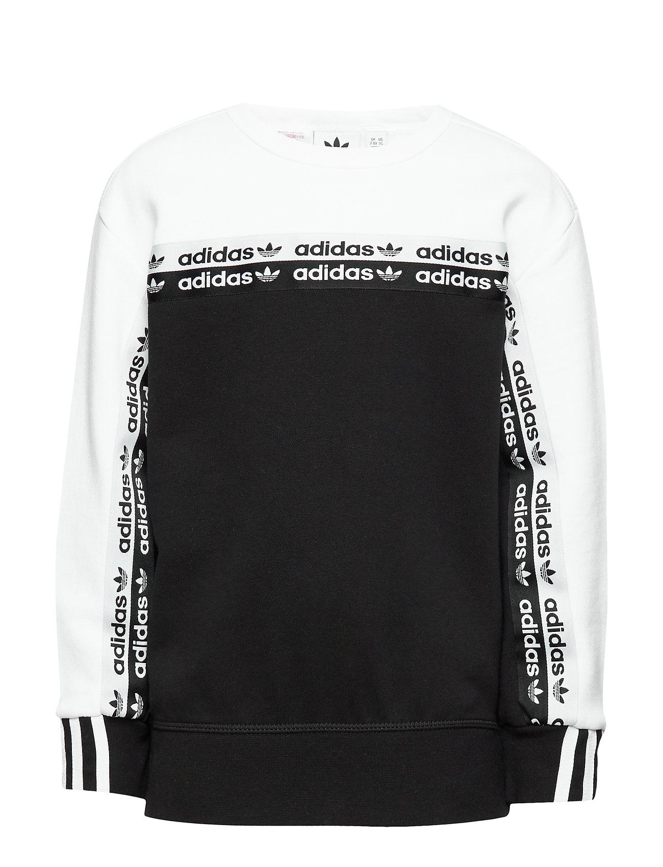 adidas Originals CREW - BLACK/WHITE