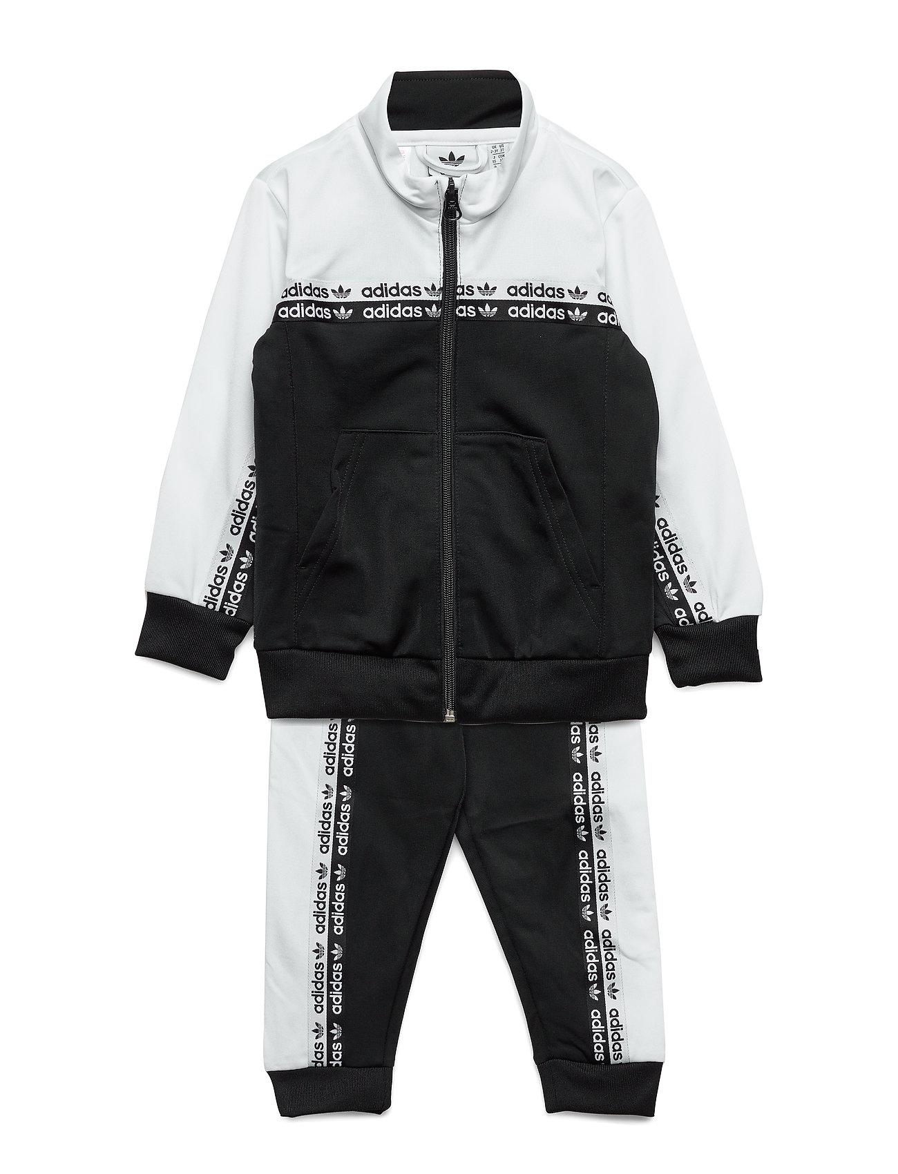 adidas Originals TRACKSUIT - BLACK/WHITE