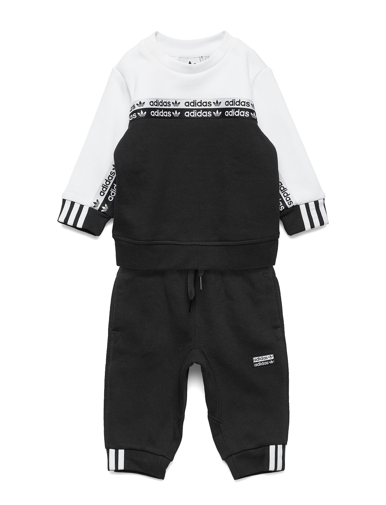 adidas Originals CREW SET - BLACK/WHITE