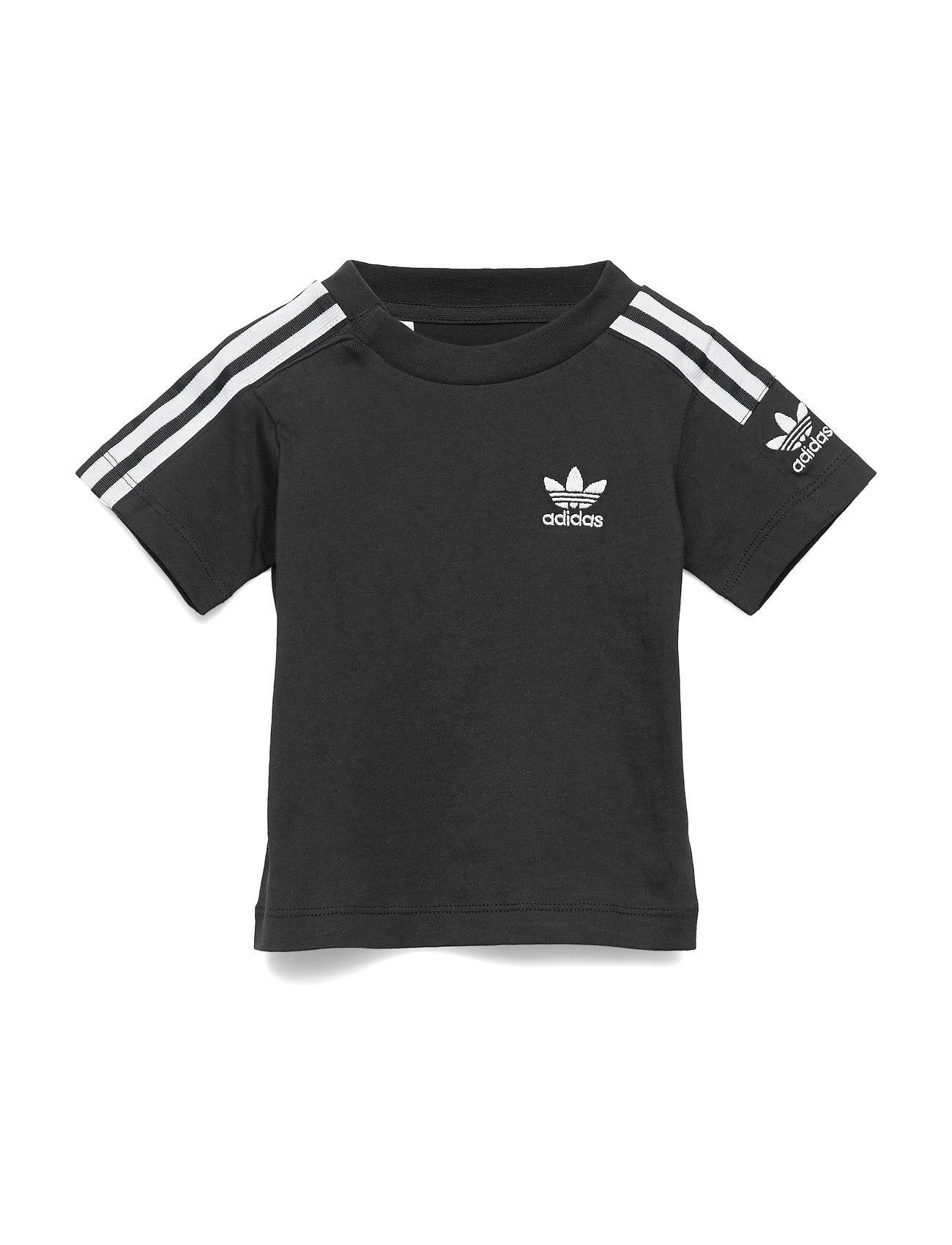 adidas Originals NEW ICON TEE - BLACK/WHITE