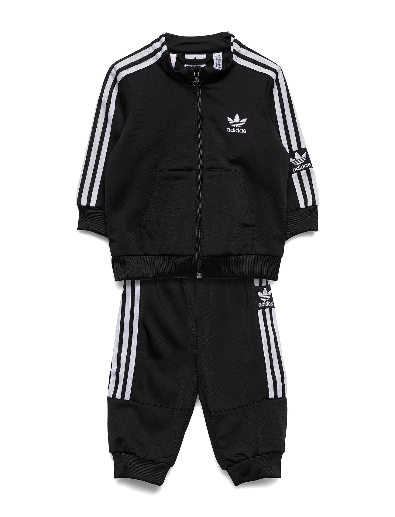 adidas Originals LOCK UP TS - BLACK/WHITE